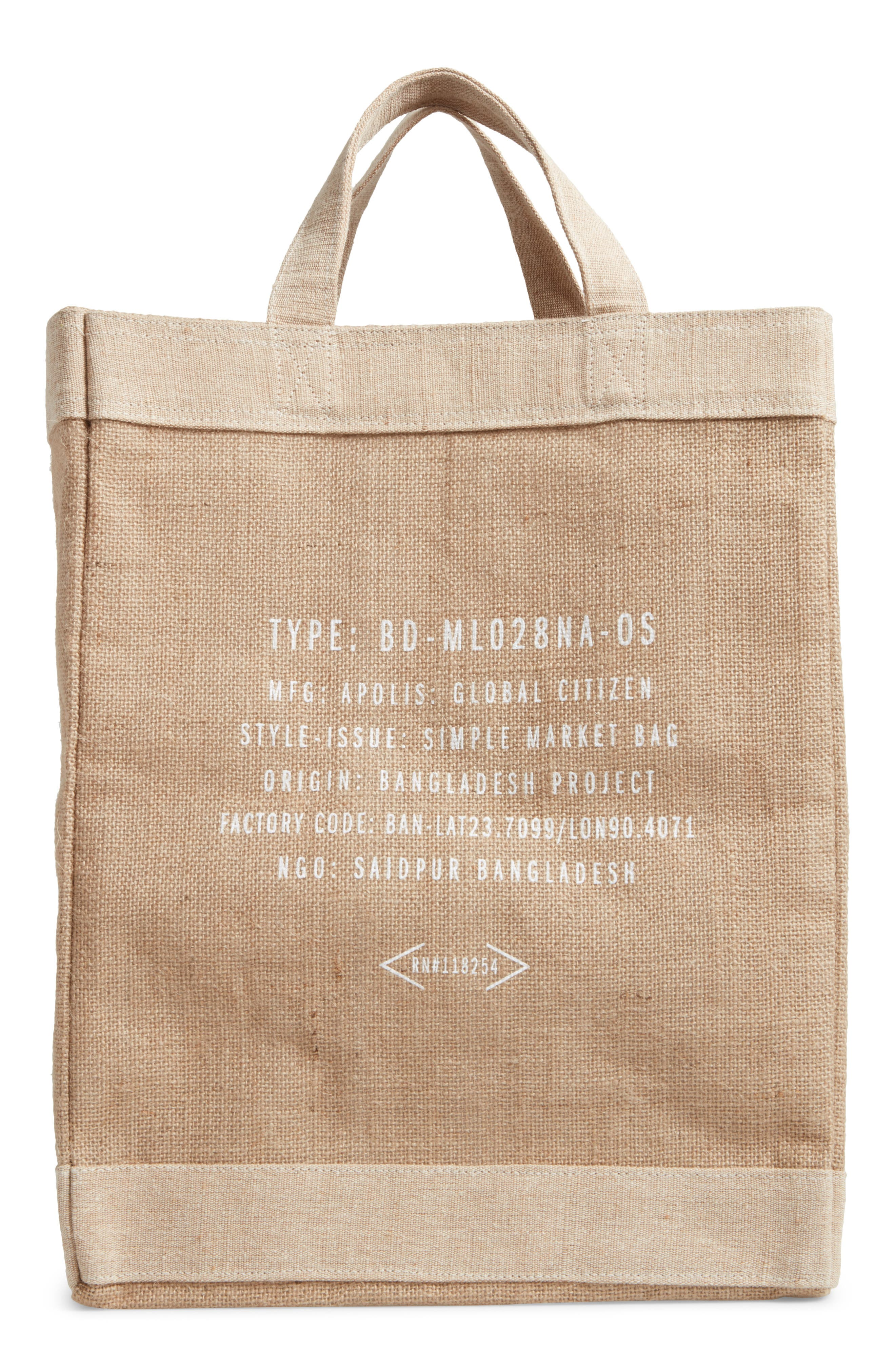 Alternate Image 2  - Apolis Seattle Simple Market Bag