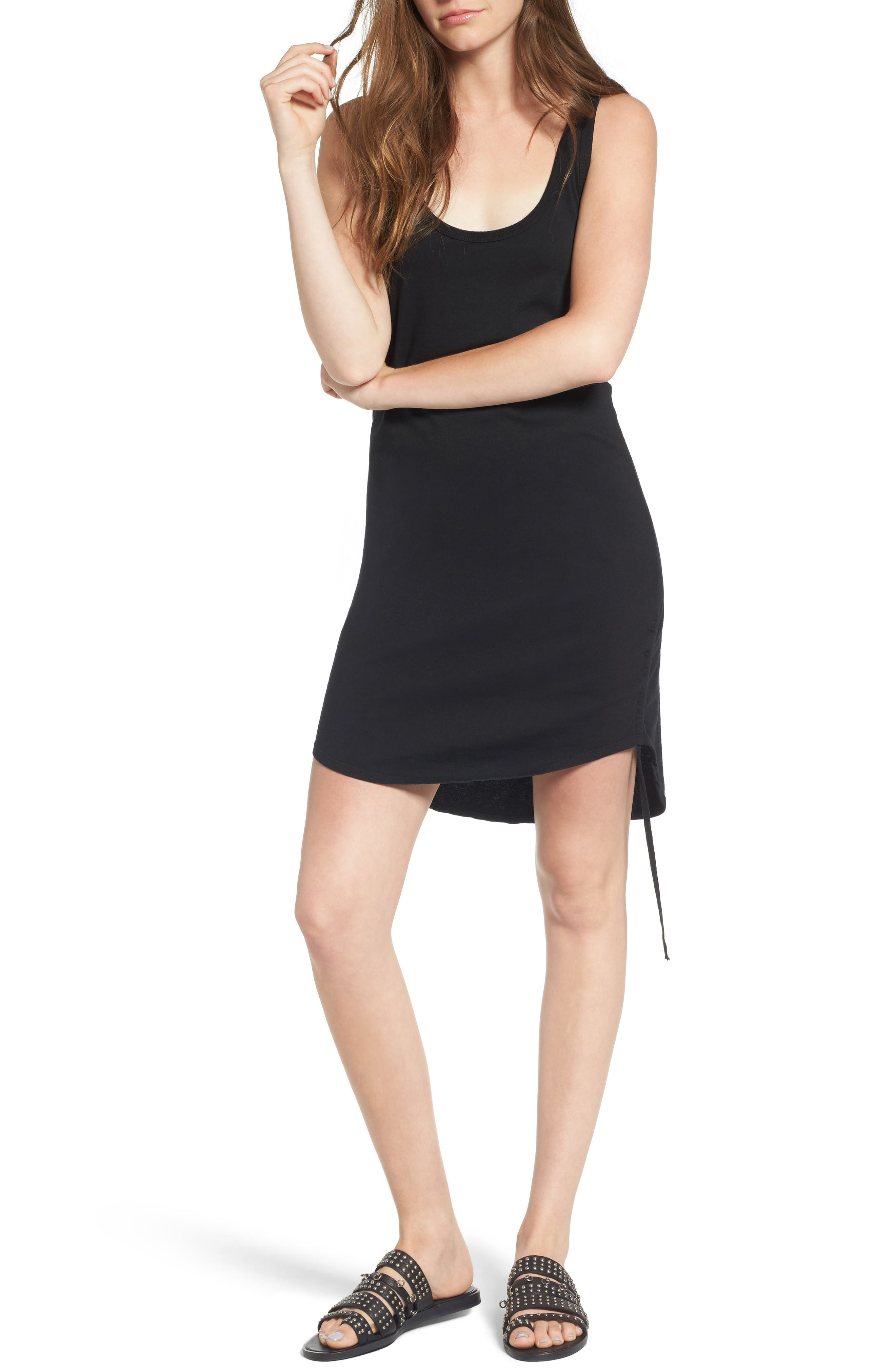 Pam & Gela Ruched Tank Dress