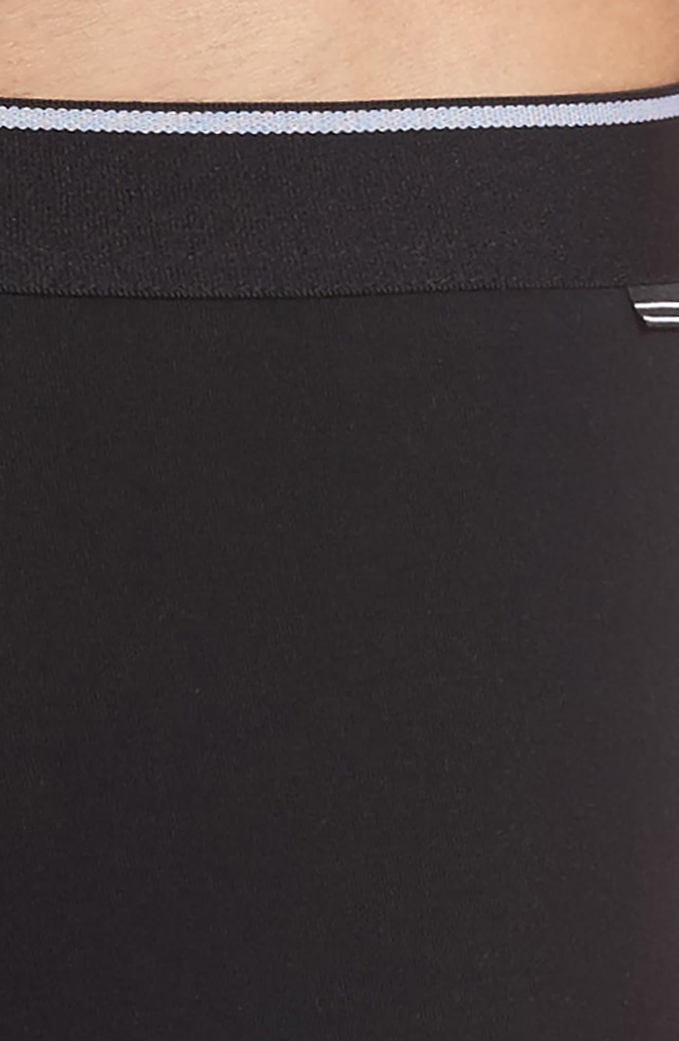 3-Pack Stretch Cotton Boxer Briefs,                             Alternate thumbnail 5, color,                             Black