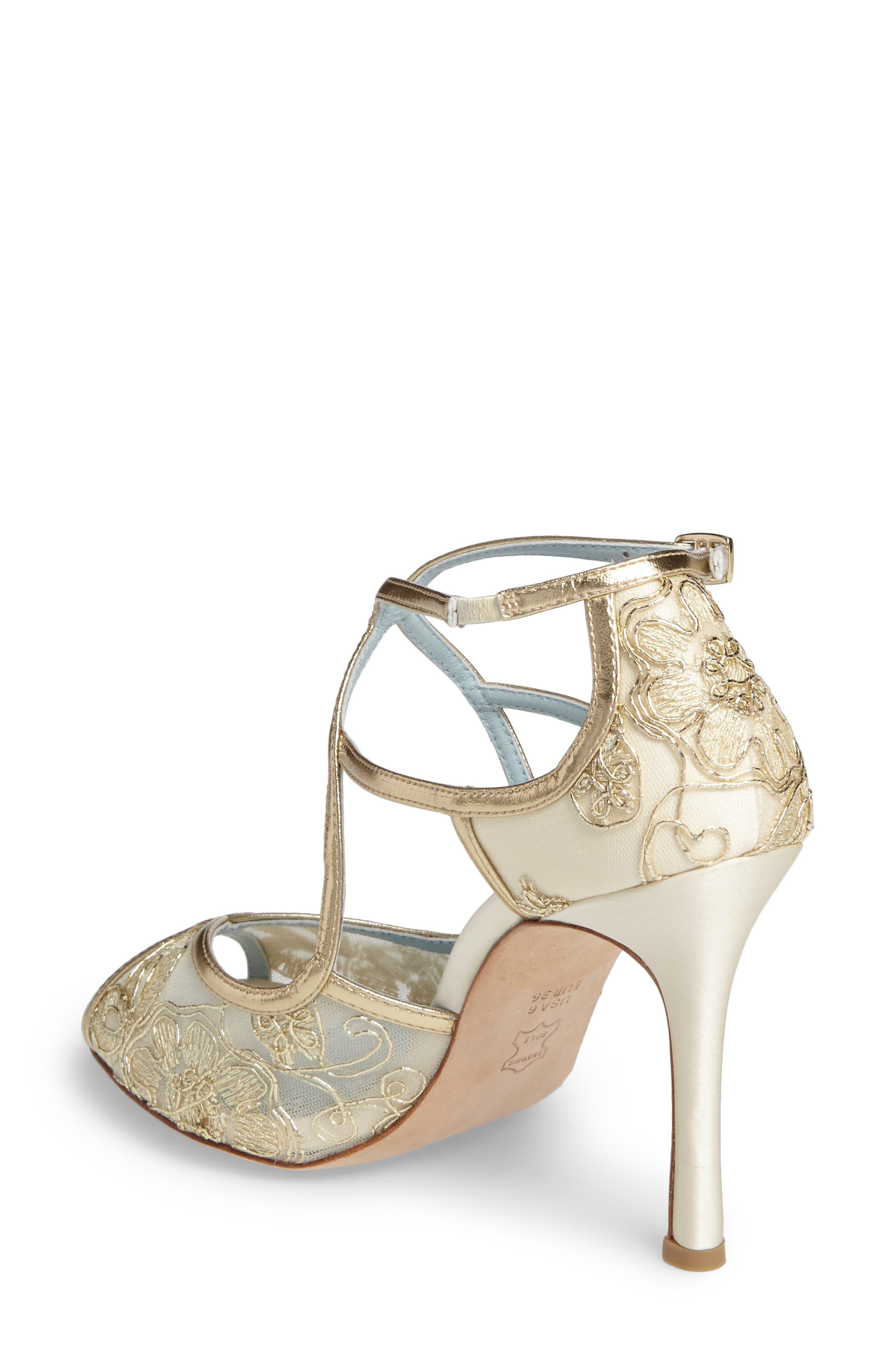 Alternate Image 2  - Bella Belle Tess Peep Toe Sandal (Women)