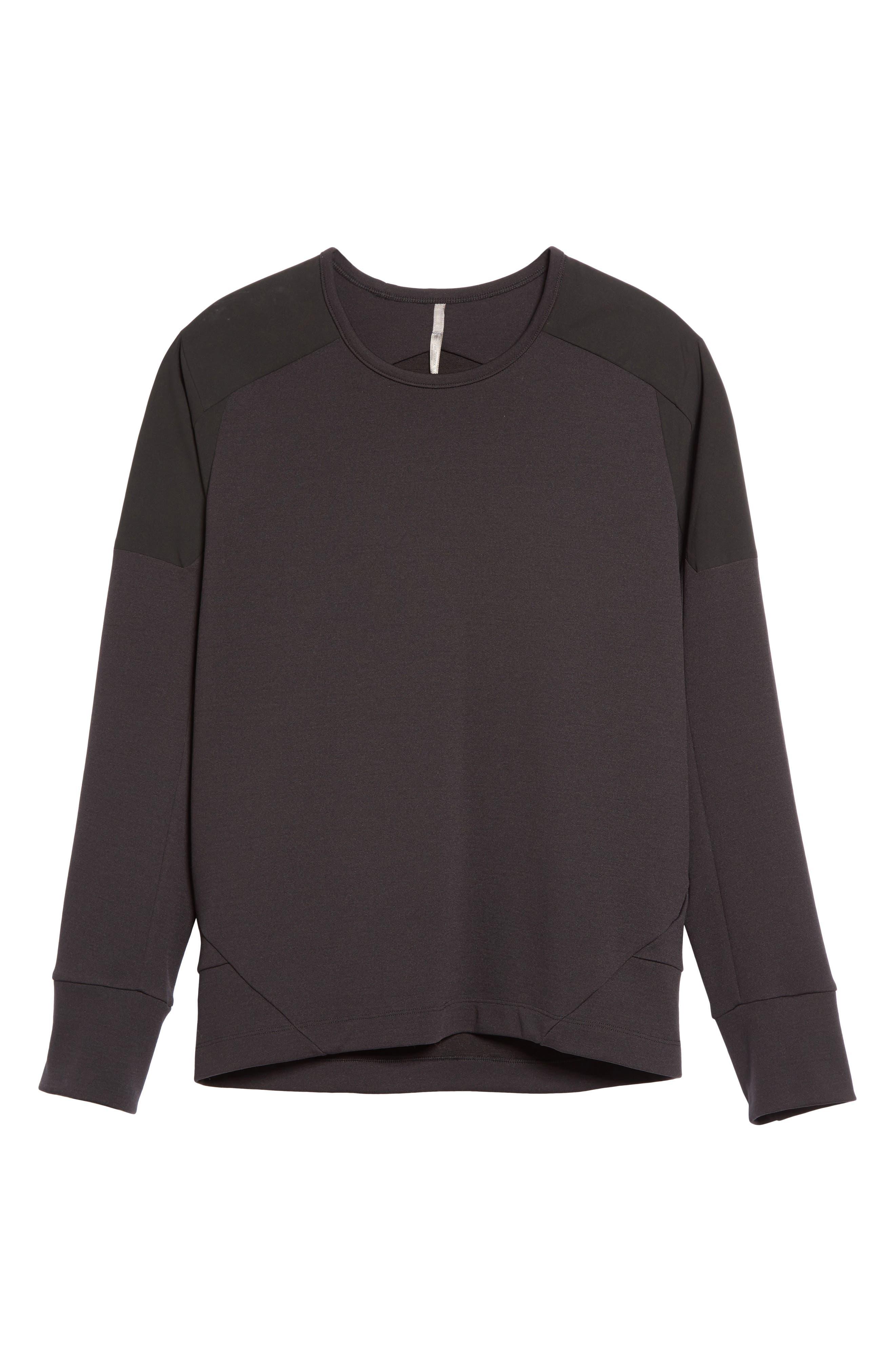 Arc'teryxVeilance'Graph' Sweater,                             Alternate thumbnail 6, color,                             Black