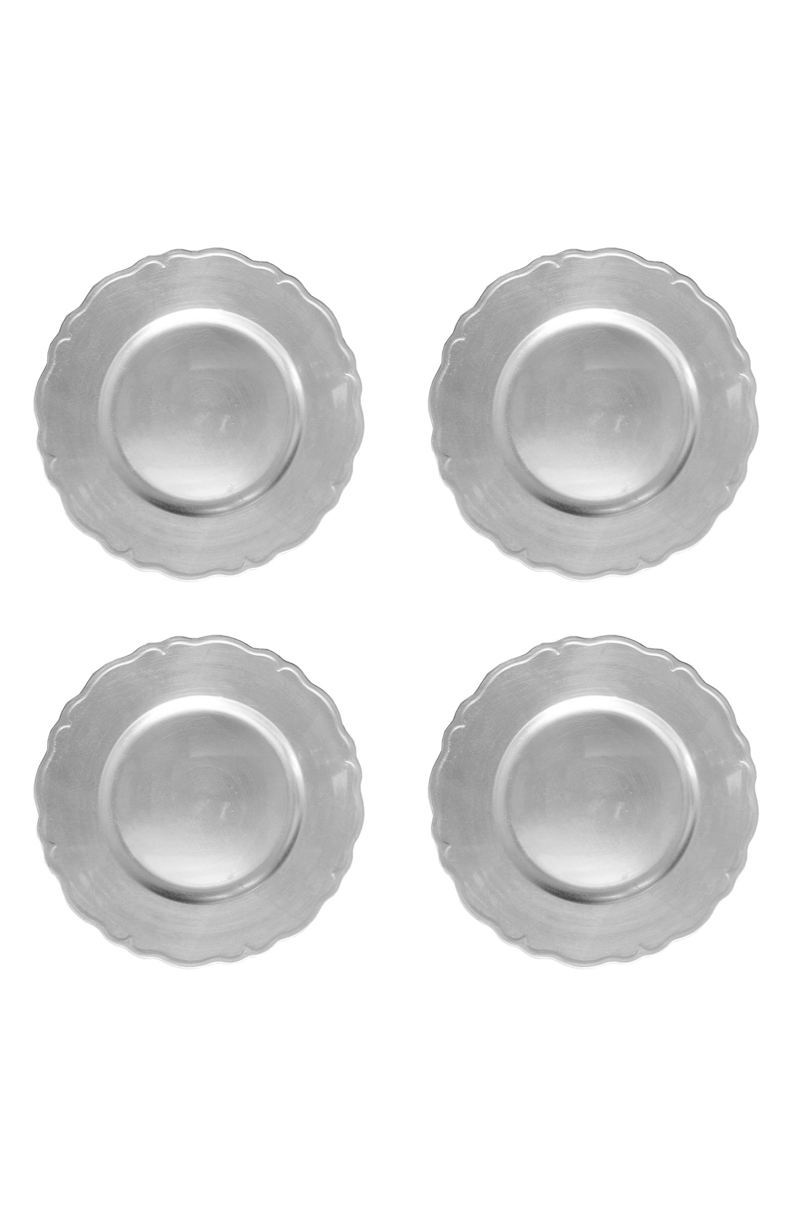 American Atelier Regency Set of 4 Charger Plates