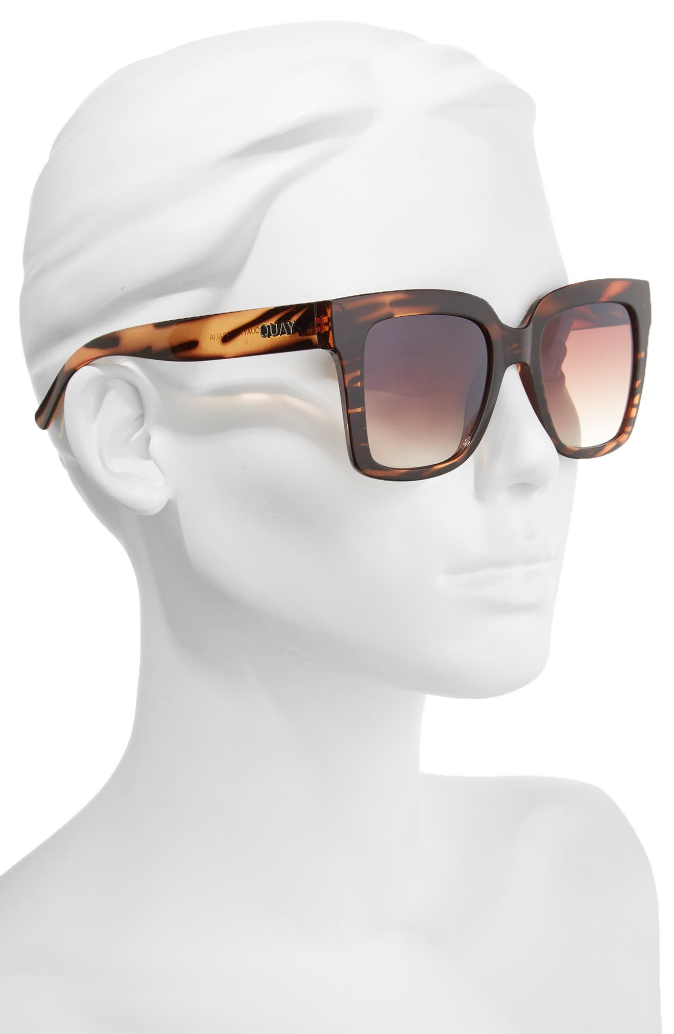 Alternate Image 2  - Quay Australia Supine 51mm Square Sunglasses