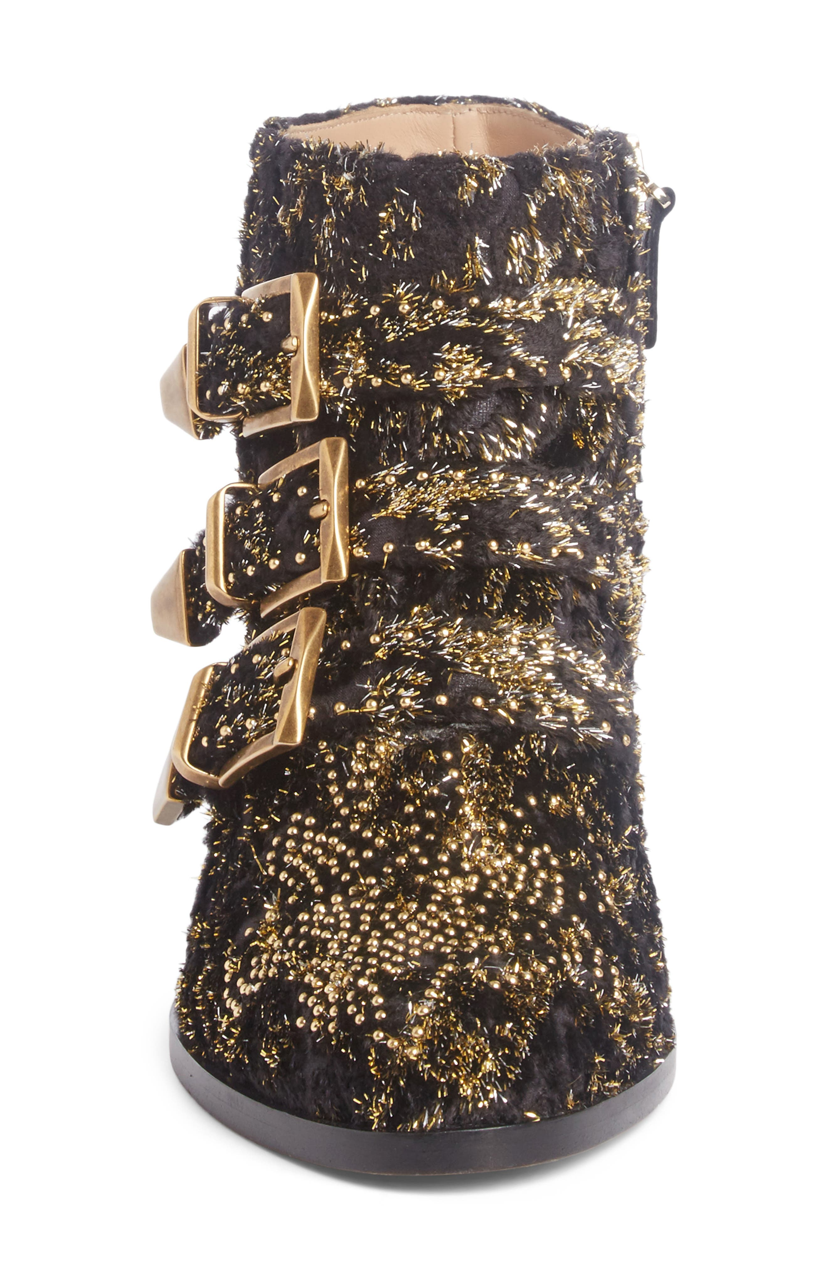 Alternate Image 3  - Chloé Susanna Tinsel Studded Bootie (Women)