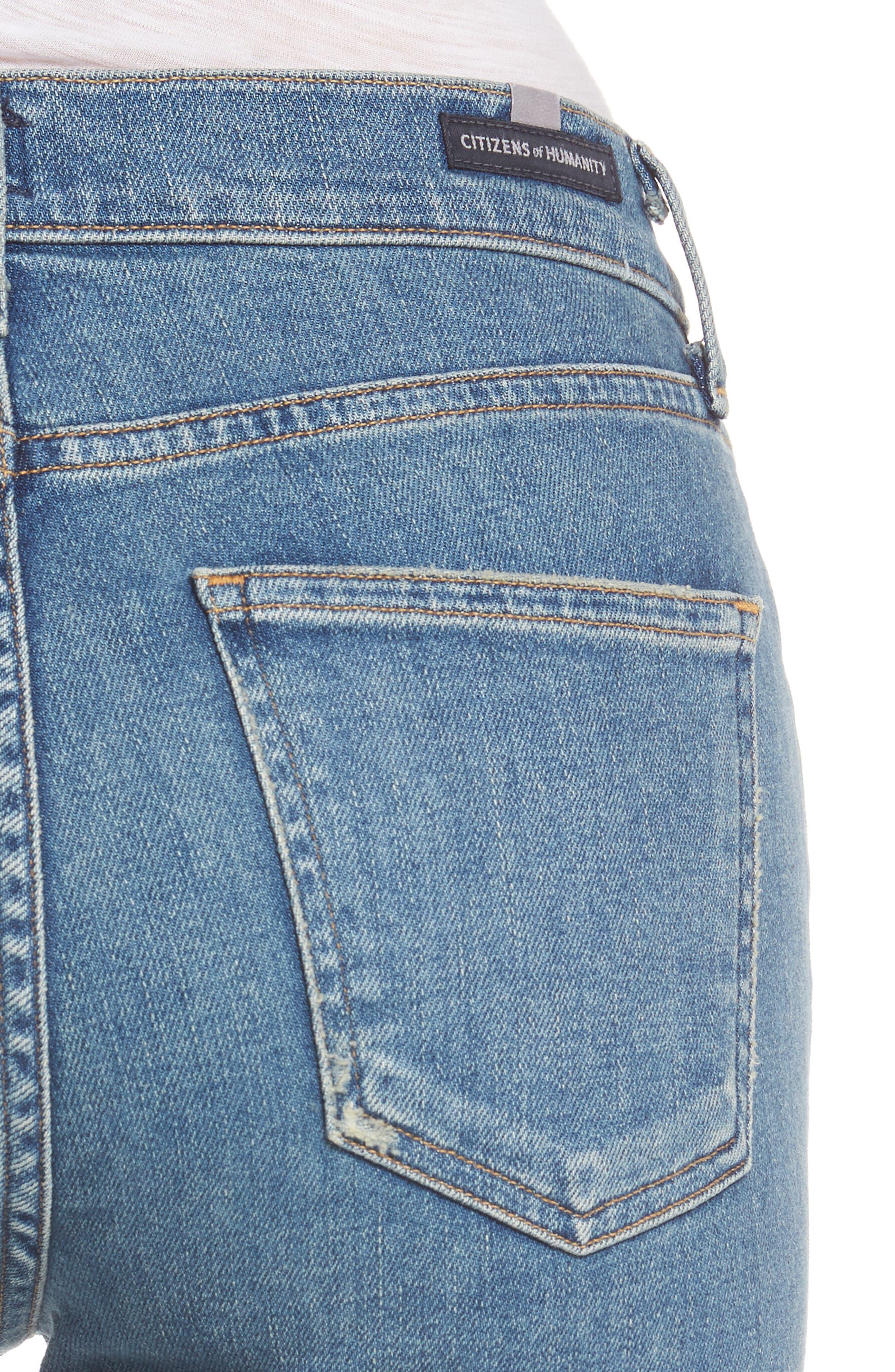 Alternate Image 4  - Citizens of Humanity Rocket High Waist Skinny Jeans (Reyes)