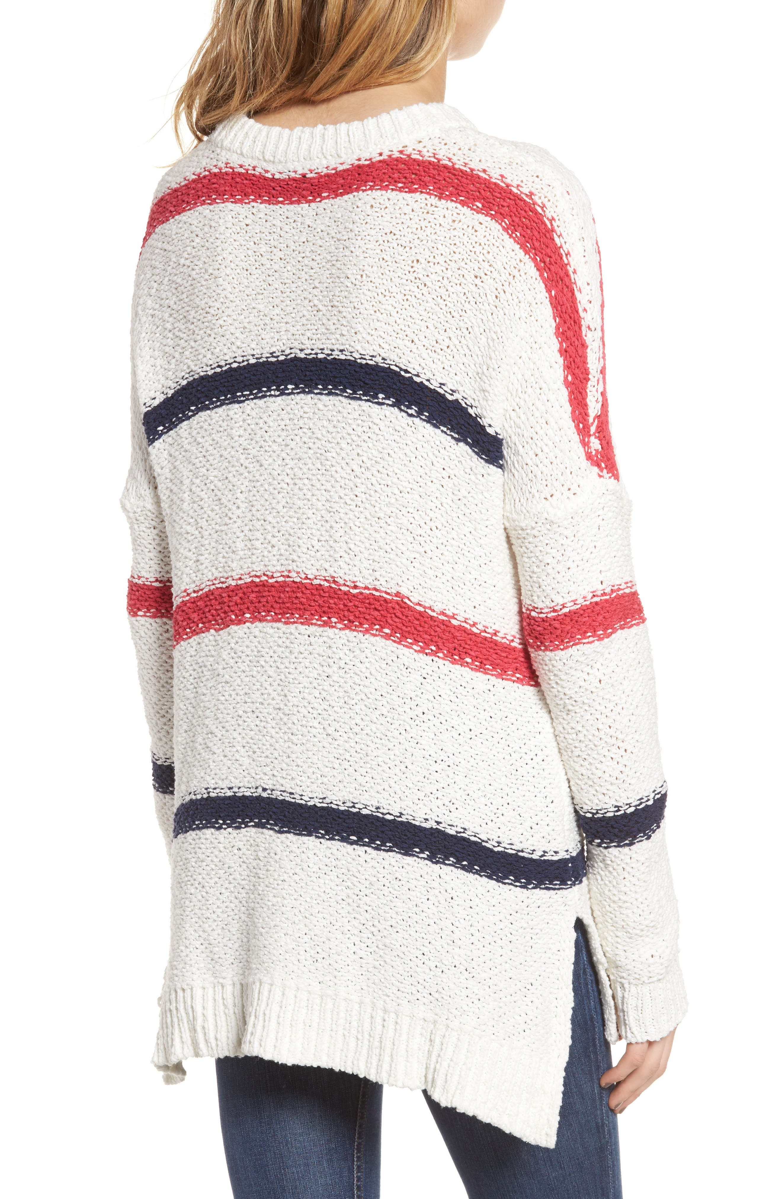 Alternate Image 2  - cupcakes and cashmere Madden Stripe Sweater