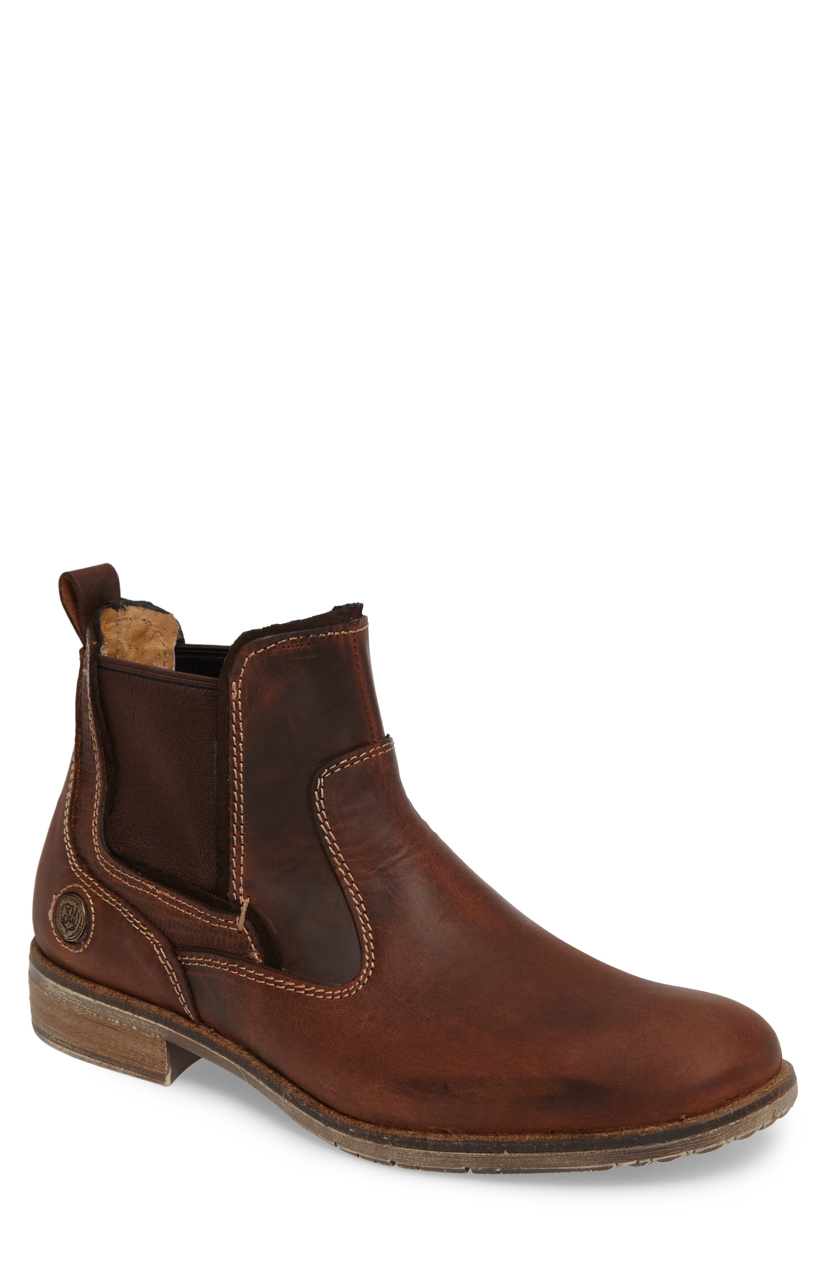 Main Image - Steve Madden Nockdown Chelsea Boot (Men)