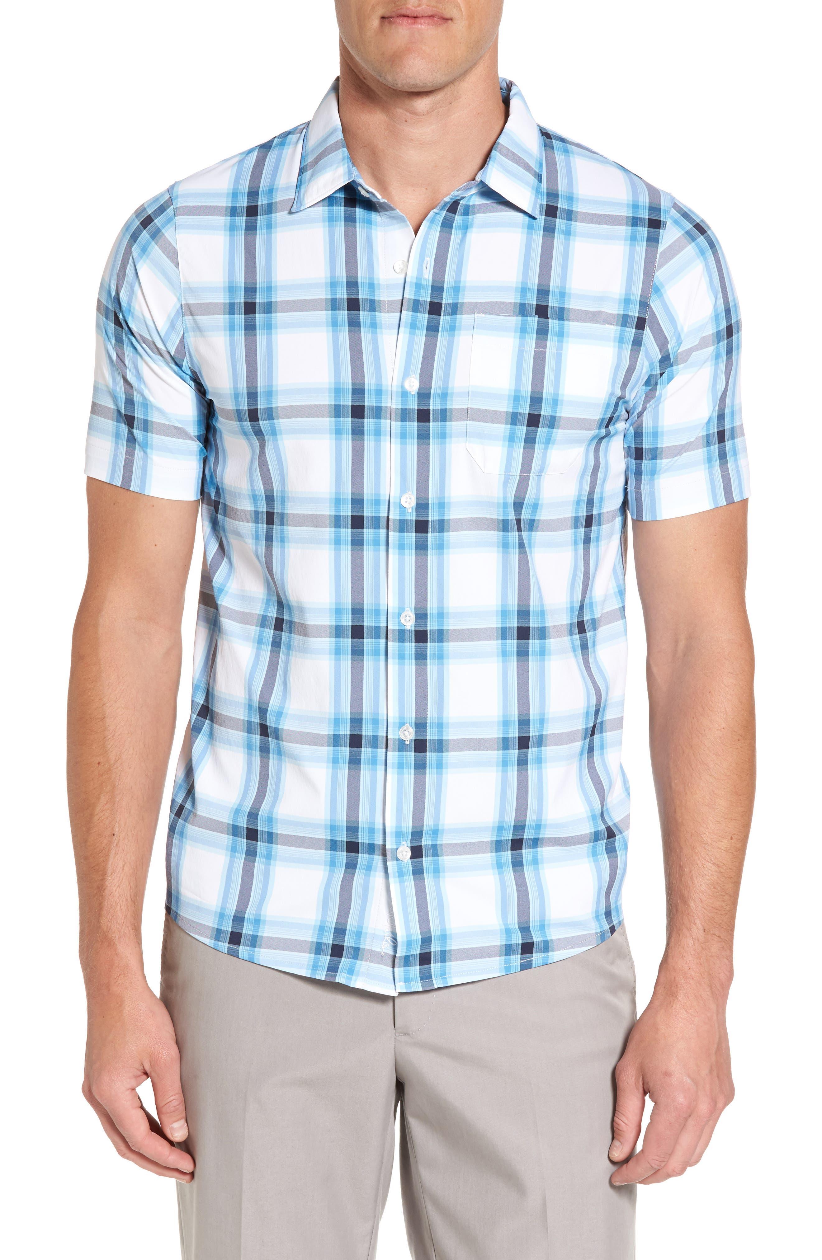 Travis Matthew Bargie Short Sleeve Sport Shirt