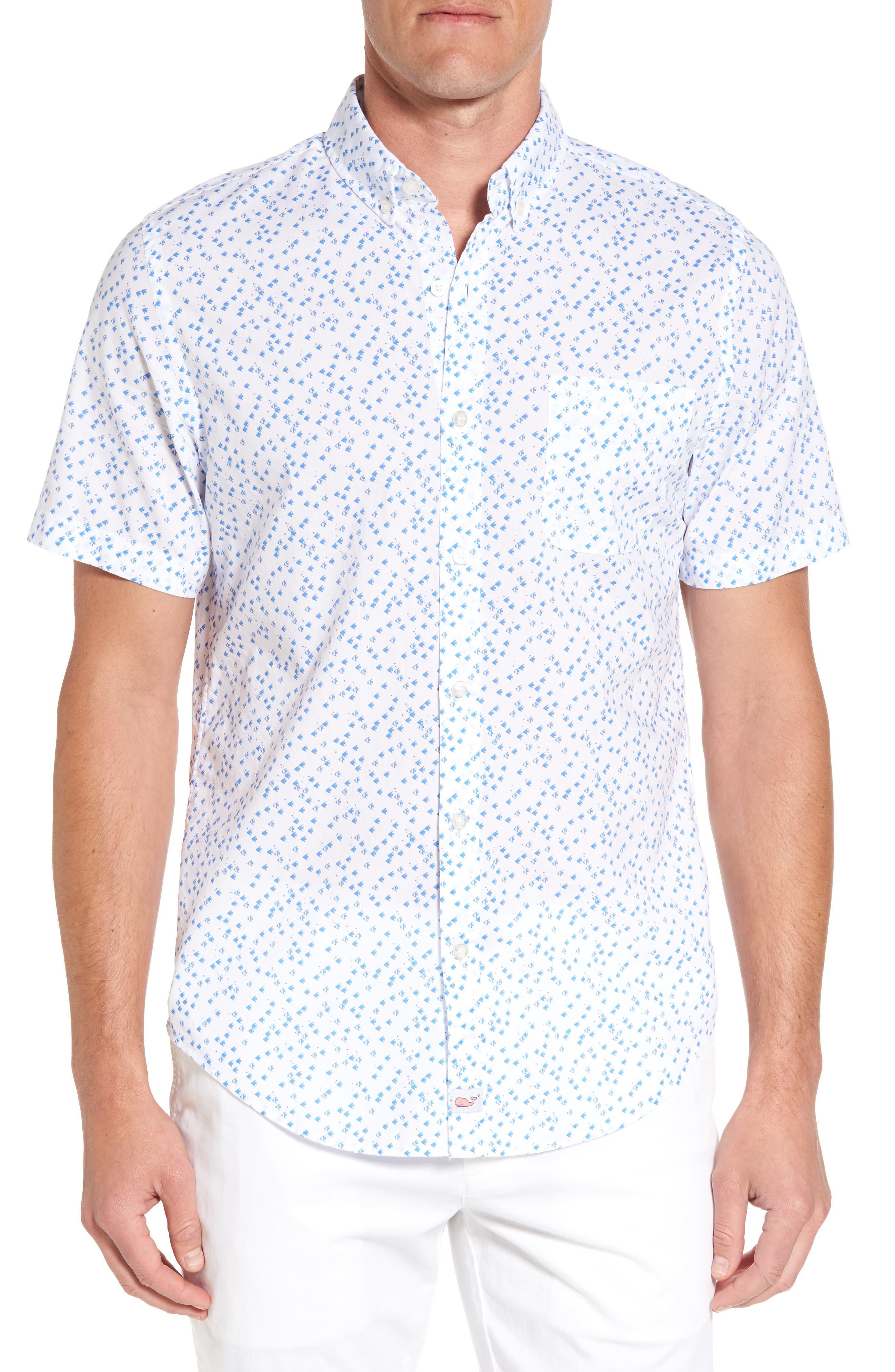Vineyard Vines Angel Fish Murray Classic Fit Sport Shirt