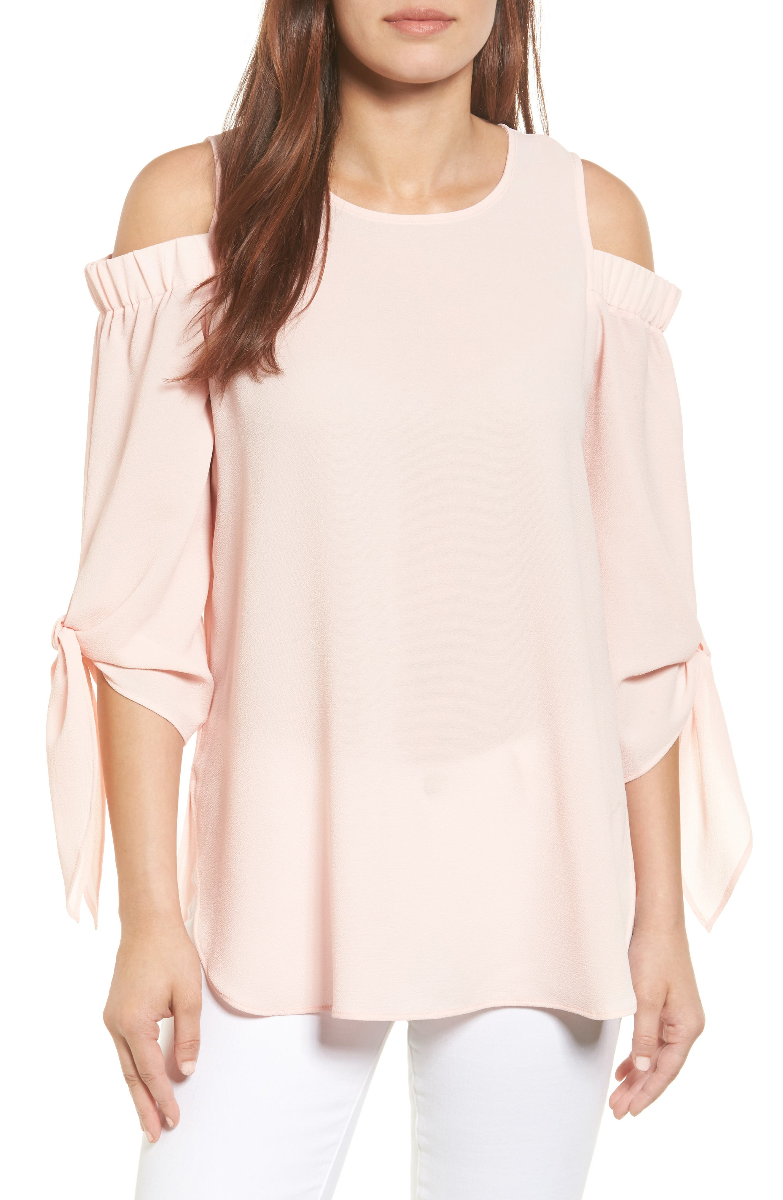 Gibson Cold Shoulder Top
