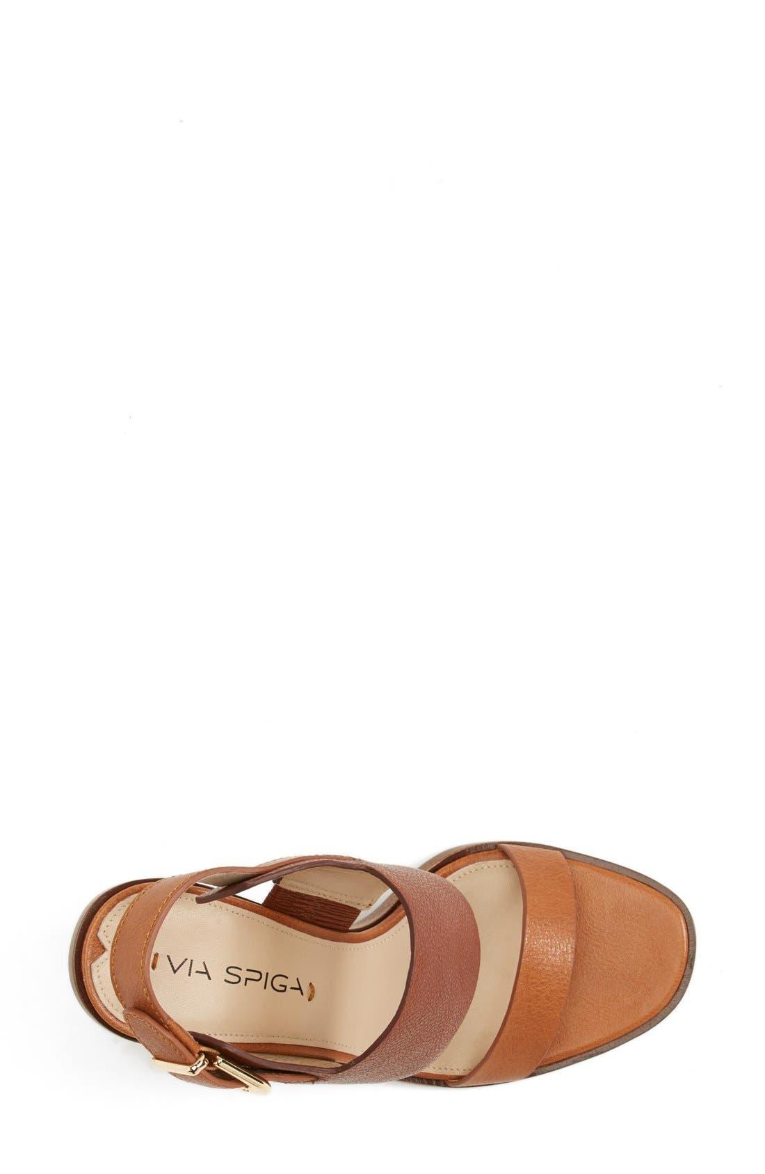 Alternate Image 3  - Via Spiga 'Baris' Leather Slingback Sandal (Women) (Nordstrom Exclusive)