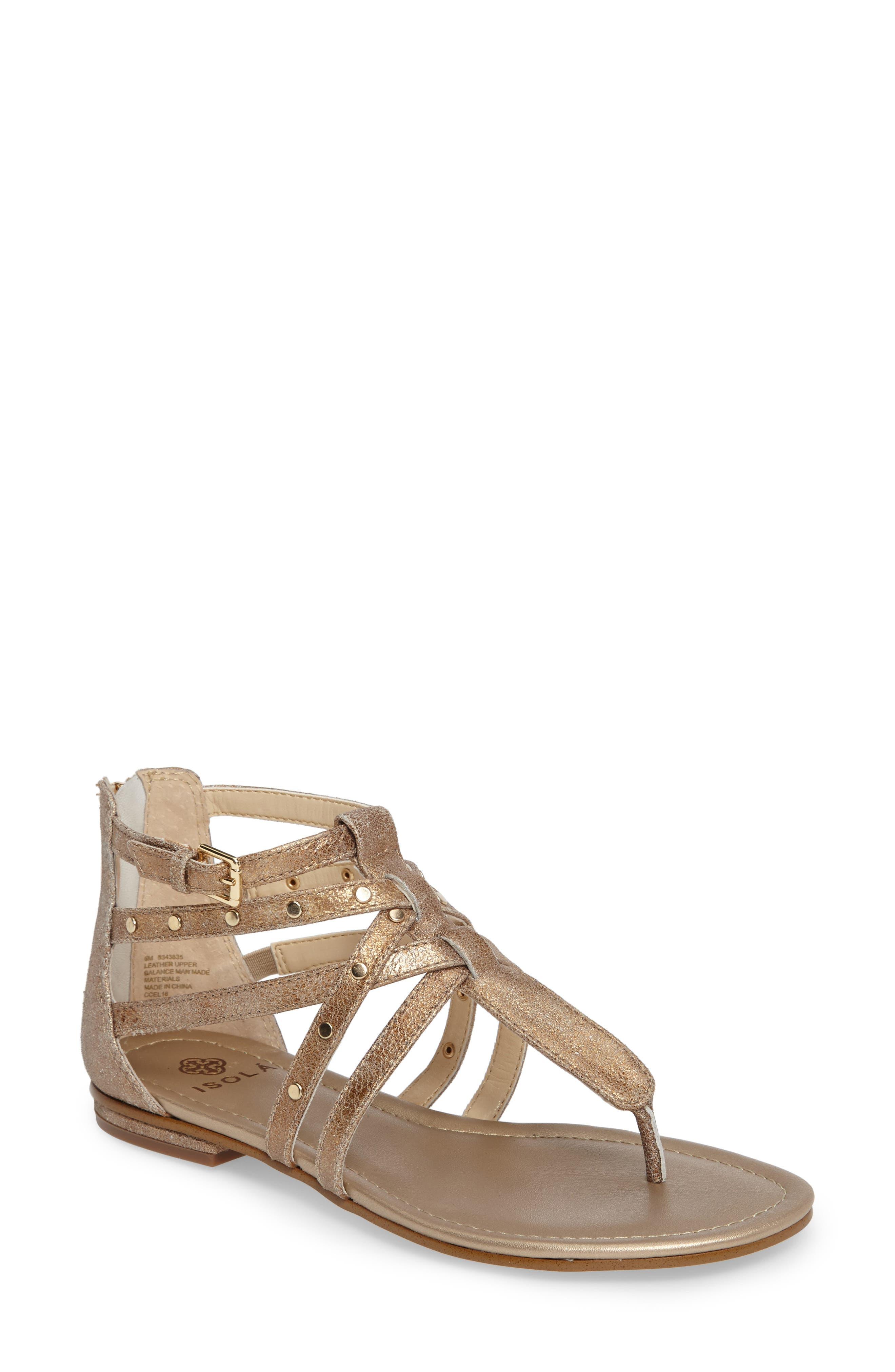 Isolá Melara T-Strap Gladiator Sandal (Women)