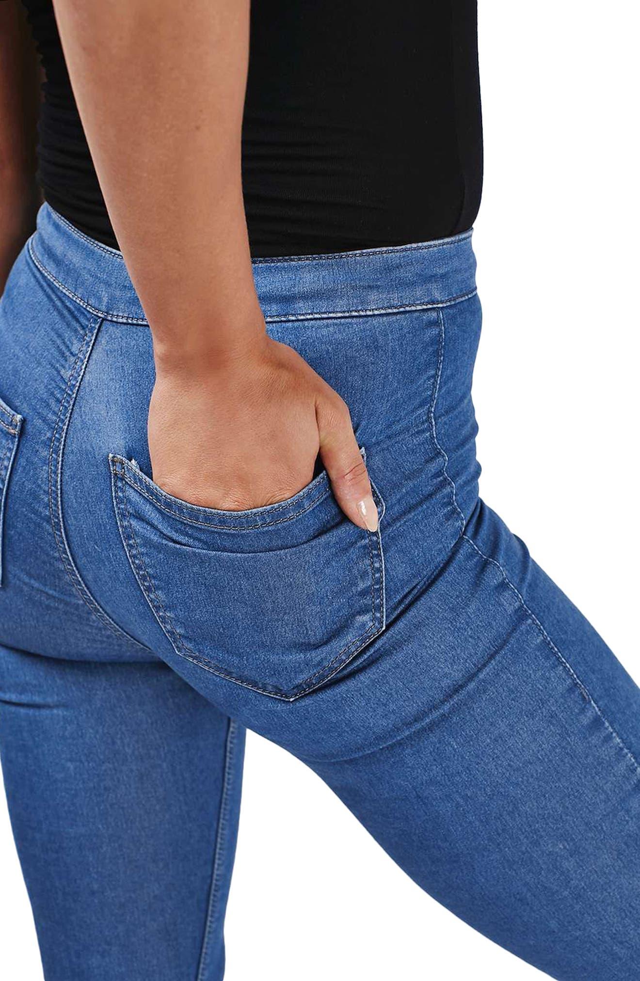 Alternate Image 5  - Topshop Joni Skinny Jeans (Tall)