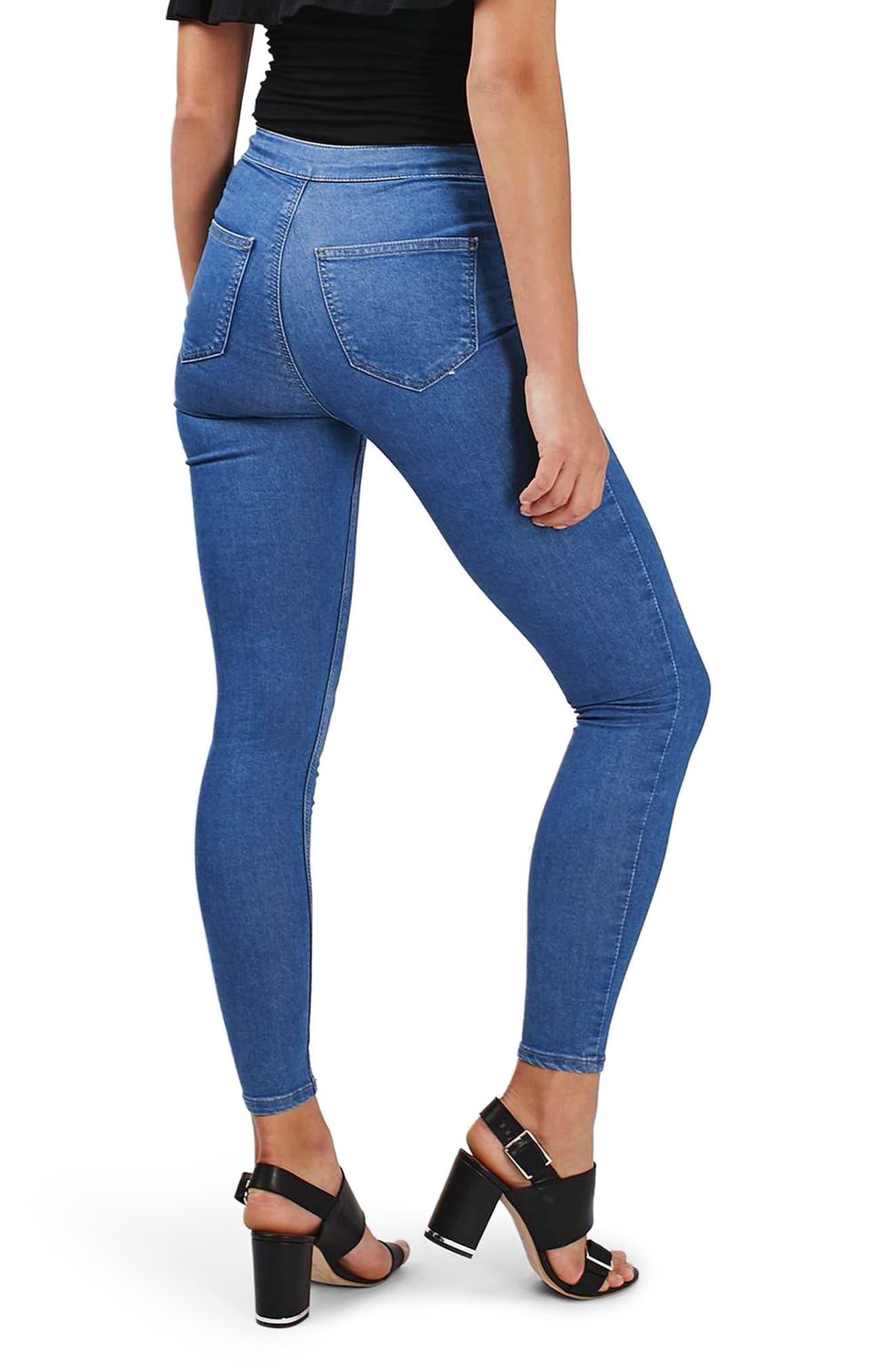 Alternate Image 3  - Topshop Joni Skinny Jeans (Tall)
