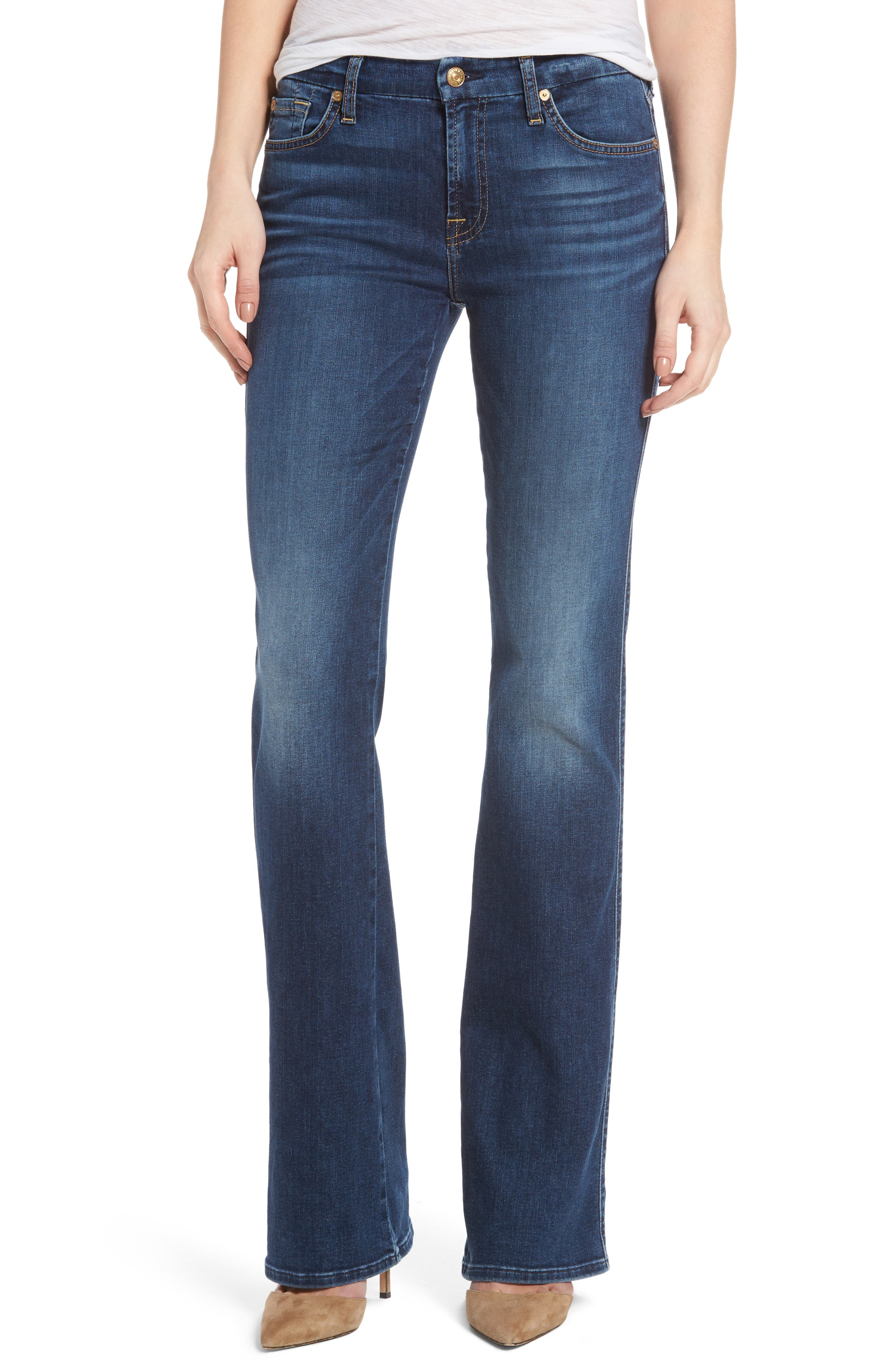 Alternate Image 1 Selected - 7 For All Mankind® Kimmie Bootcut Jeans (Stunning Bleeker)