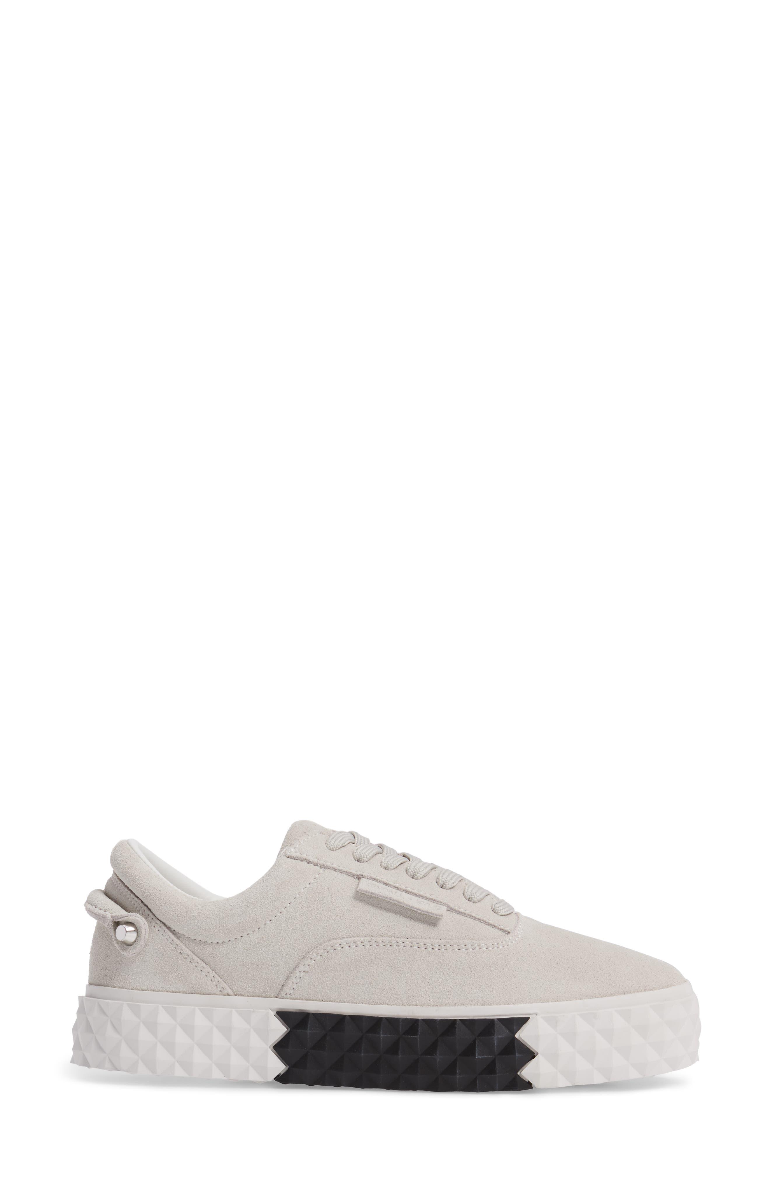 Reign Platform Sneaker,                             Alternate thumbnail 3, color,                             White