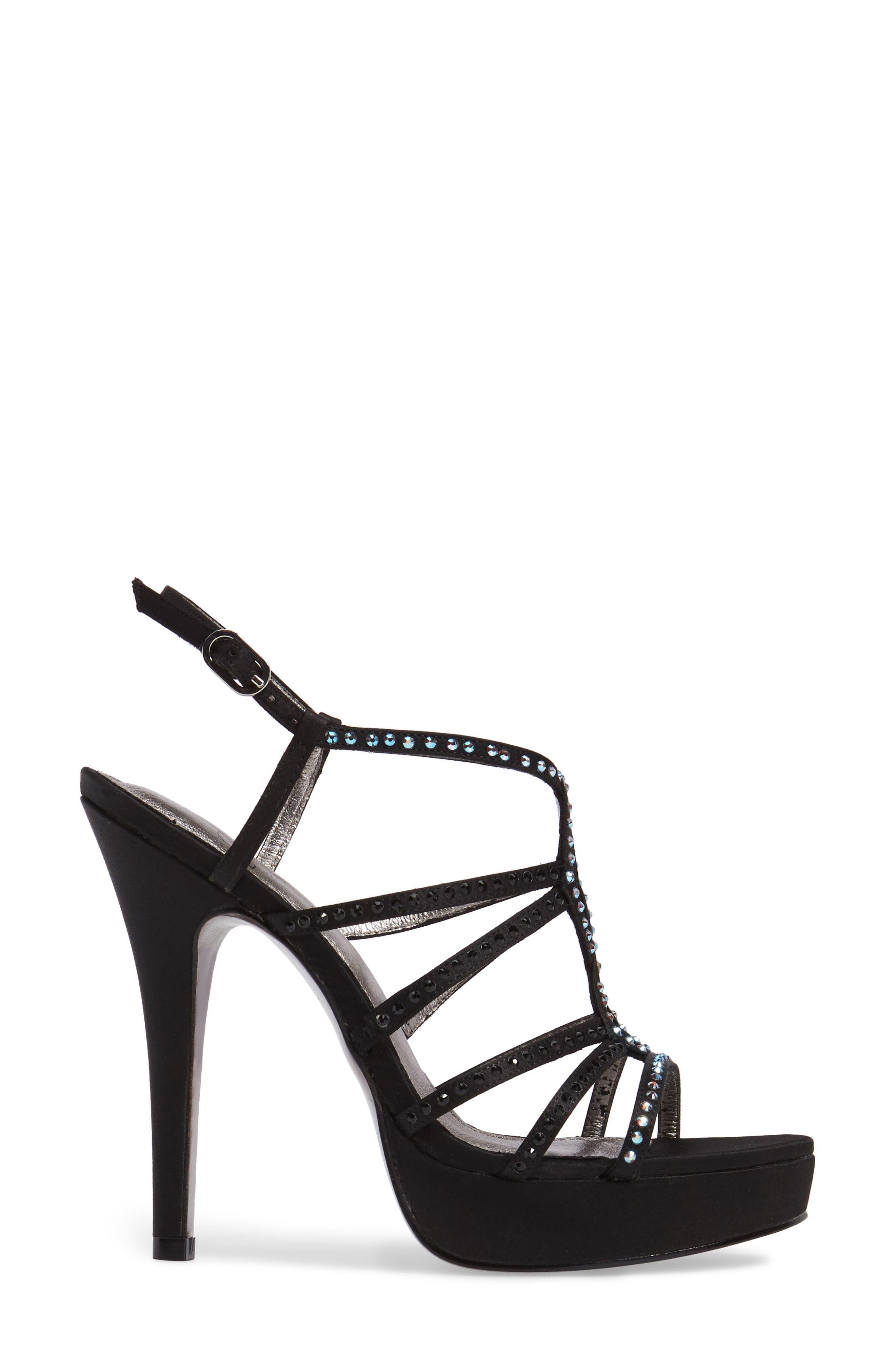 Alternate Image 3  - Adrianna Papell Miranda Embellished Platform Sandal (Women)