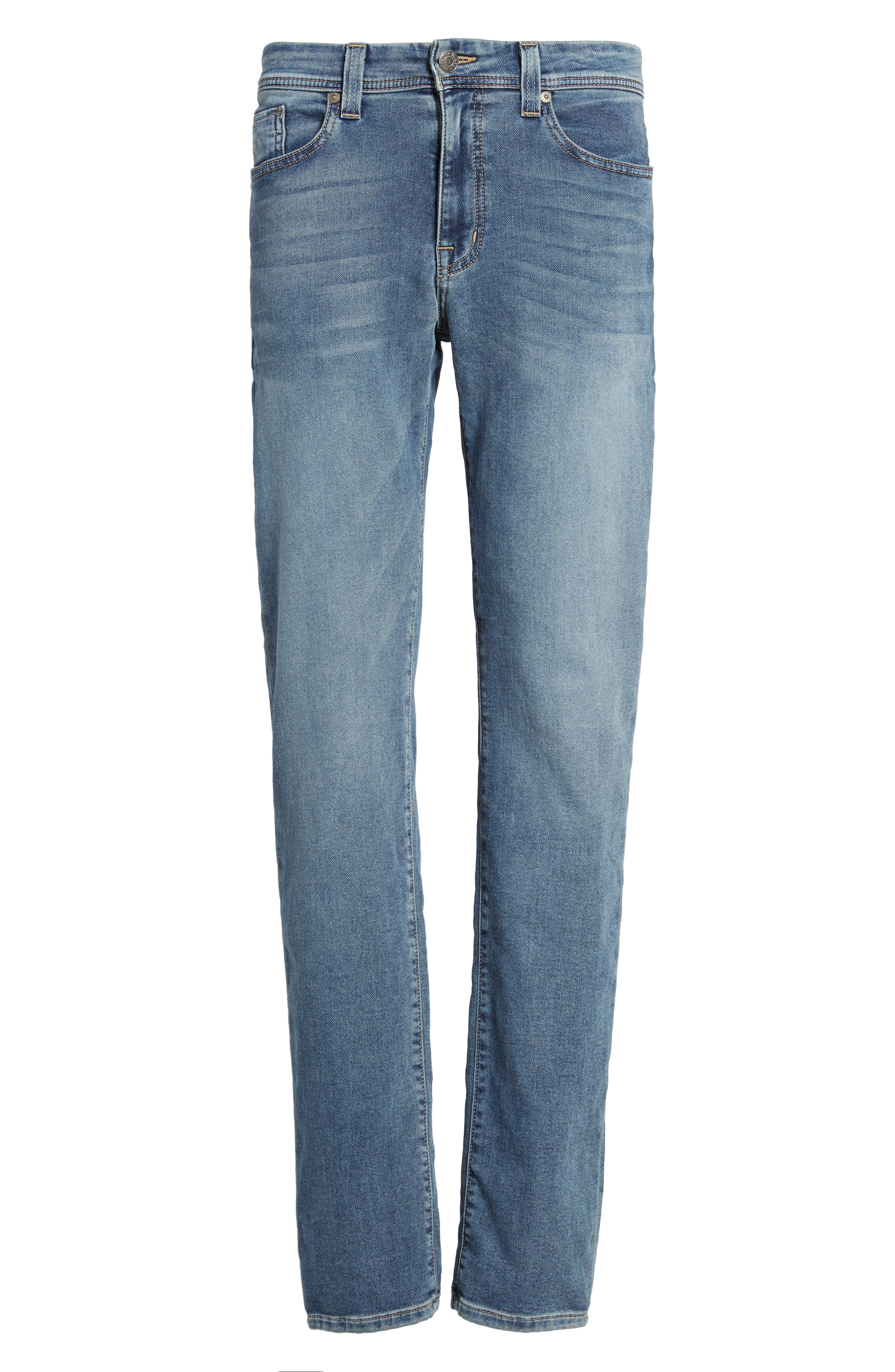 Jimmy Slim Straight Leg Jeans,                             Alternate thumbnail 6, color,                             Oxy Vox Vintage