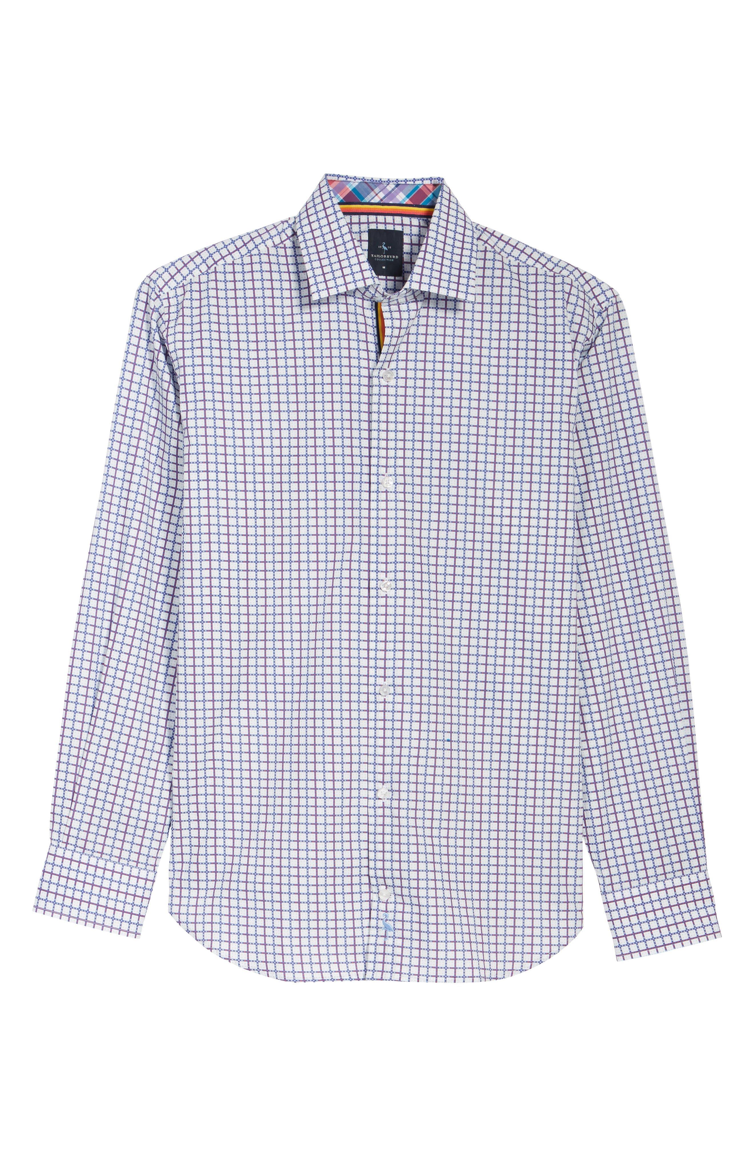 Alternate Image 6  - TailorByrd Magnolia Sport Shirt