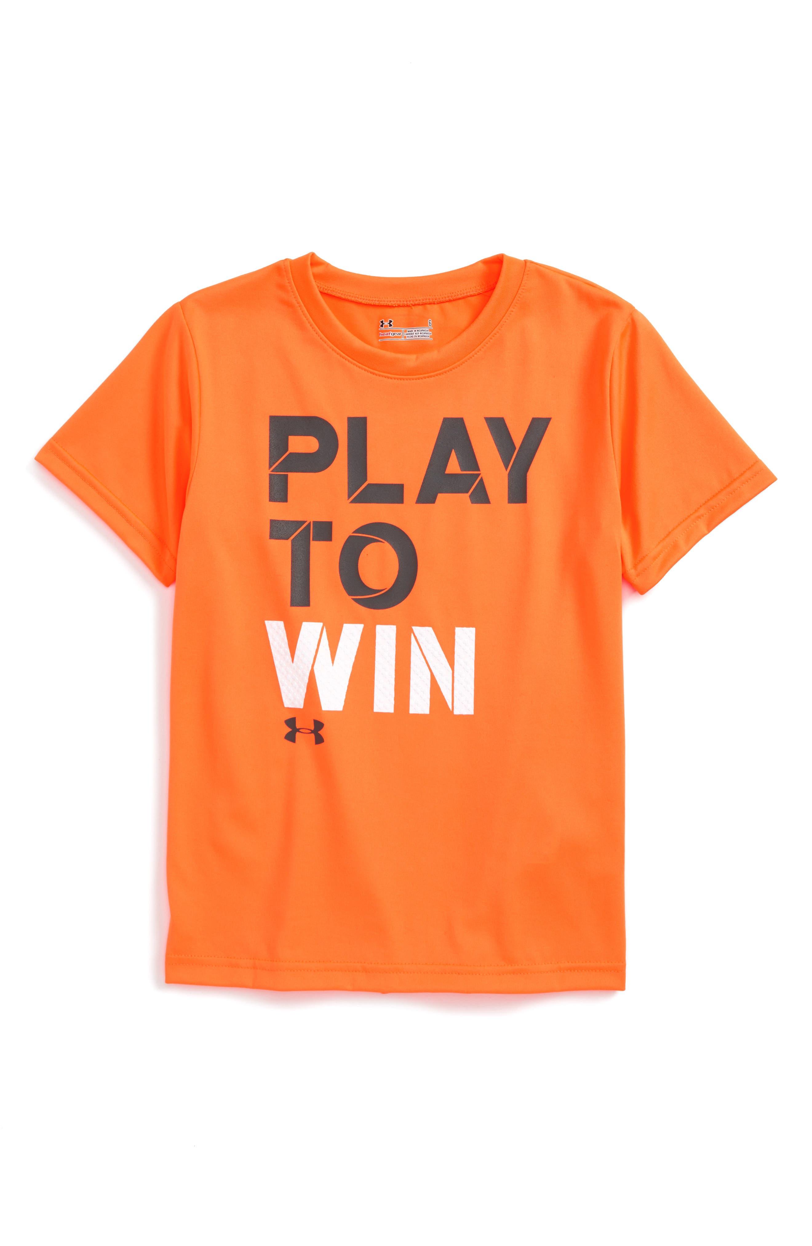 Under Armour Play to Win HeatGear® T-Shirt (Toddler Boys & Little Boys)