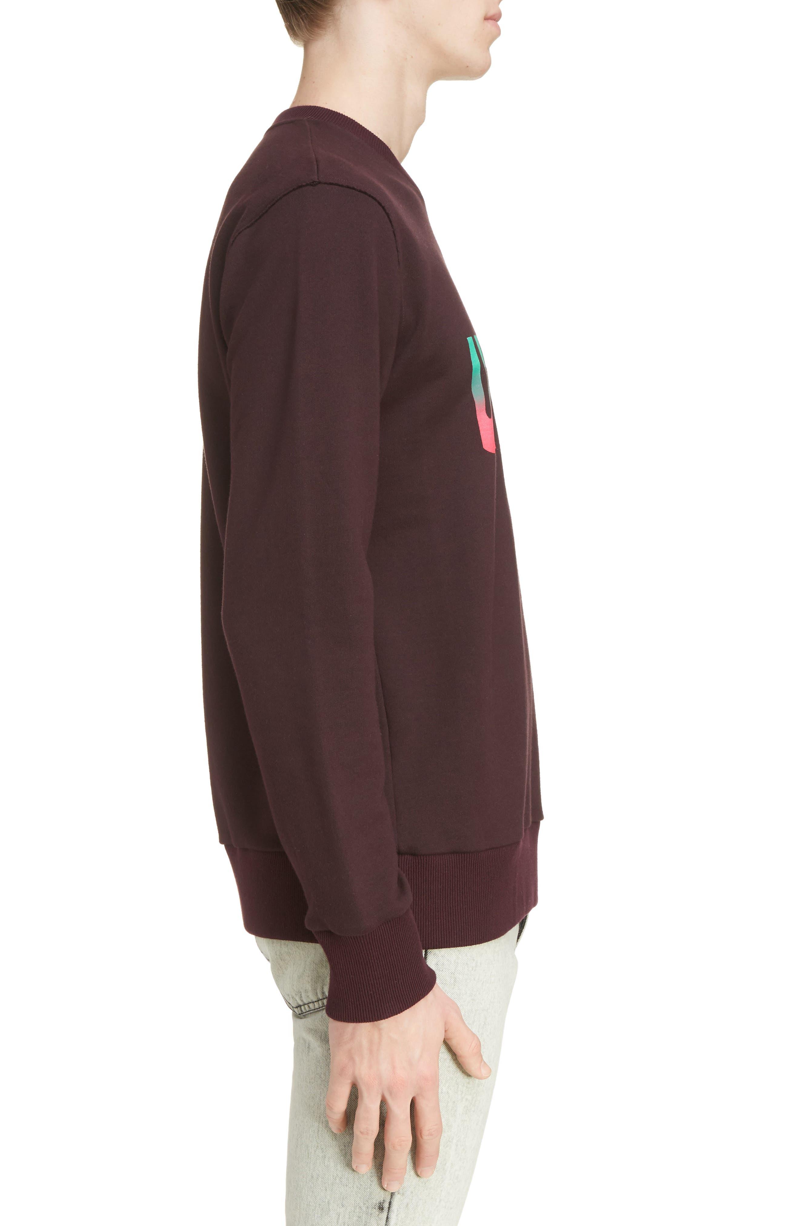 Alternate Image 3  - Lanvin Utopia Graphic Crewneck Sweatshirt
