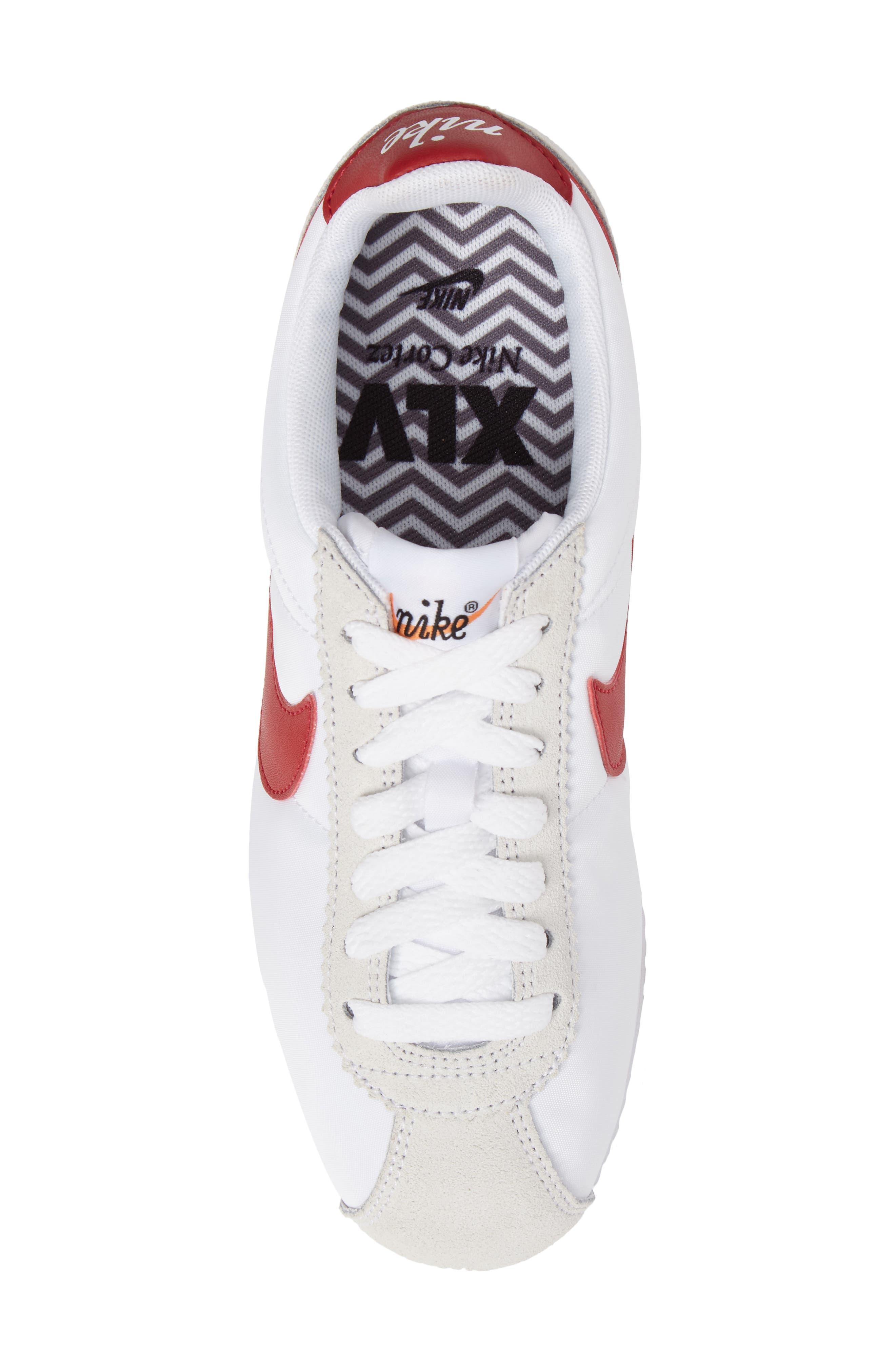 Alternate Image 5  - Nike Classic Cortez Premium Sneaker (Women)