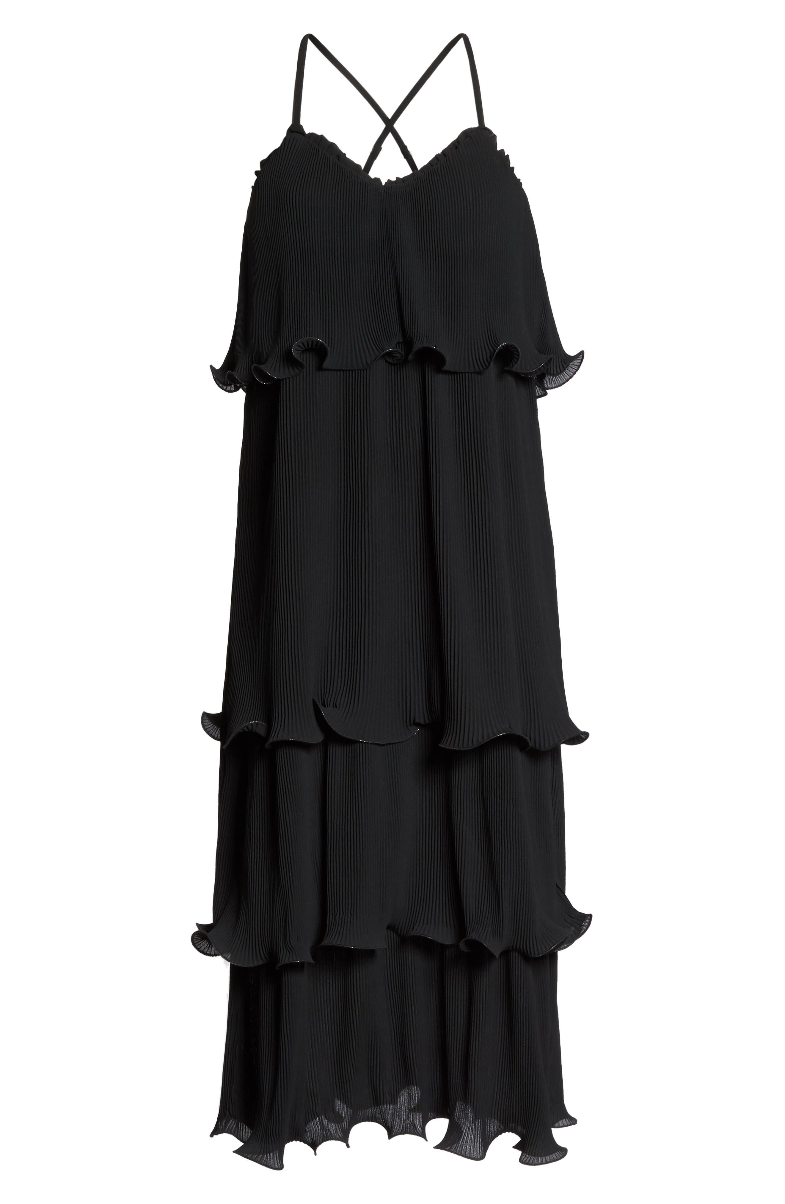 Alternate Image 6  - True Decadence by Glamorous Tiered Midi Dress