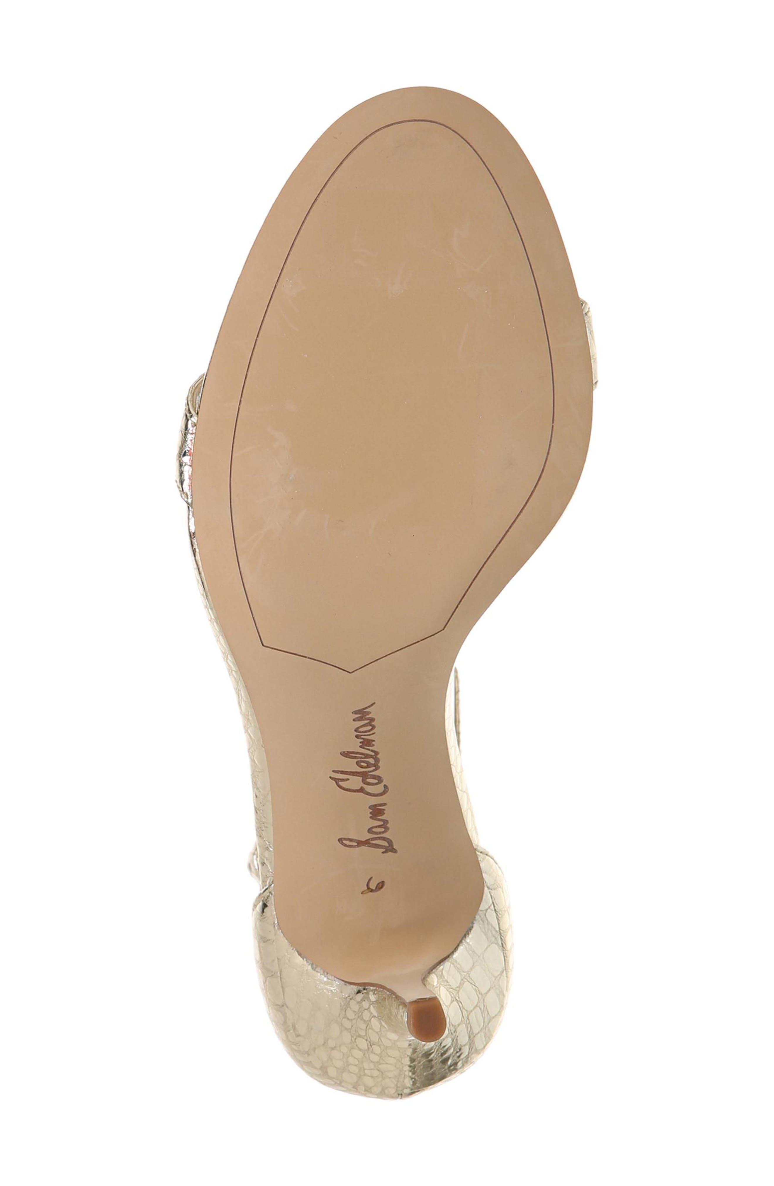 Alternate Image 5  - Sam Edelman 'Patti' Ankle Strap Sandal (Women)