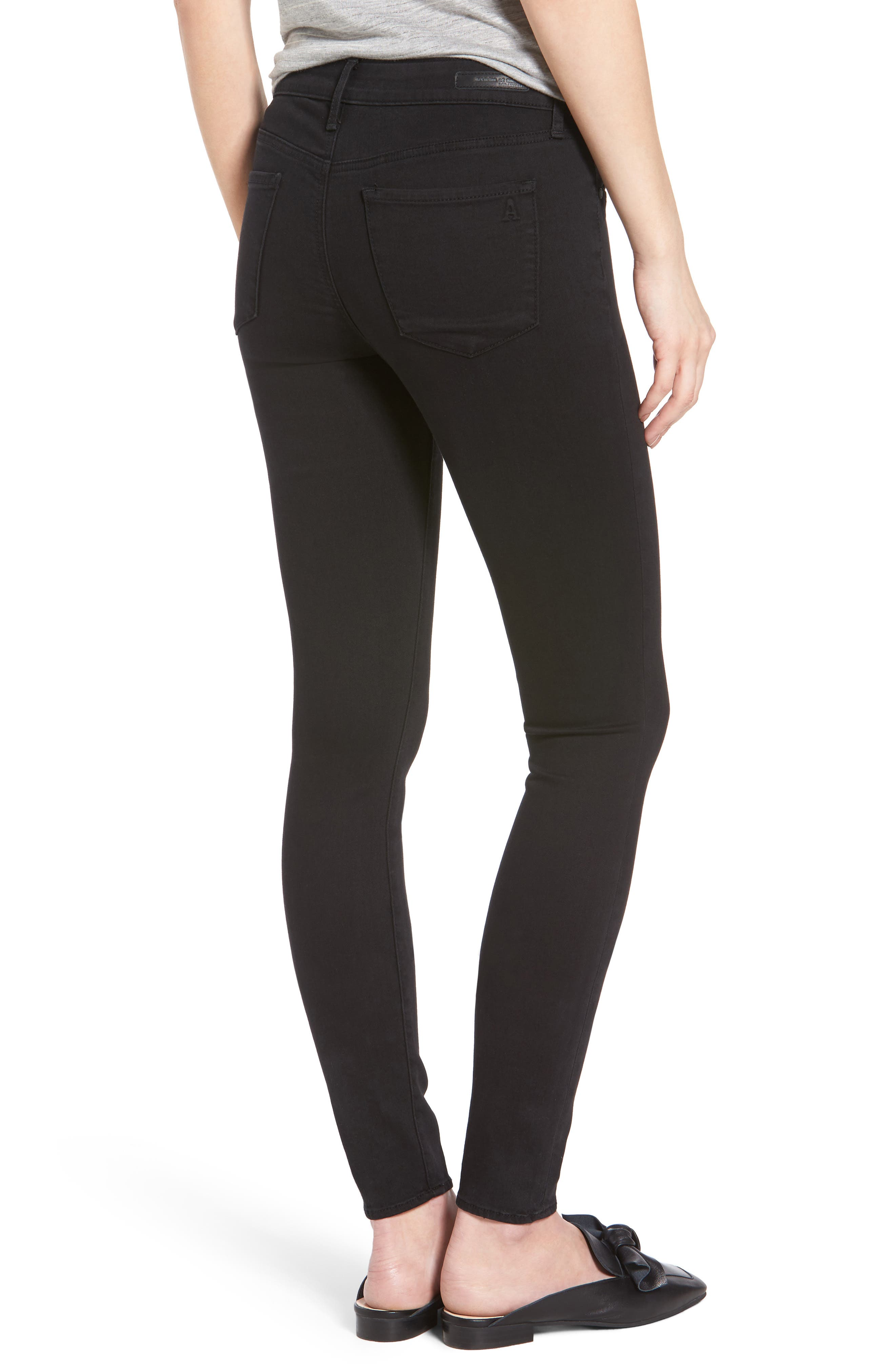 Mya Ankle Skinny Jeans,                             Alternate thumbnail 2, color,                             Blackhawk