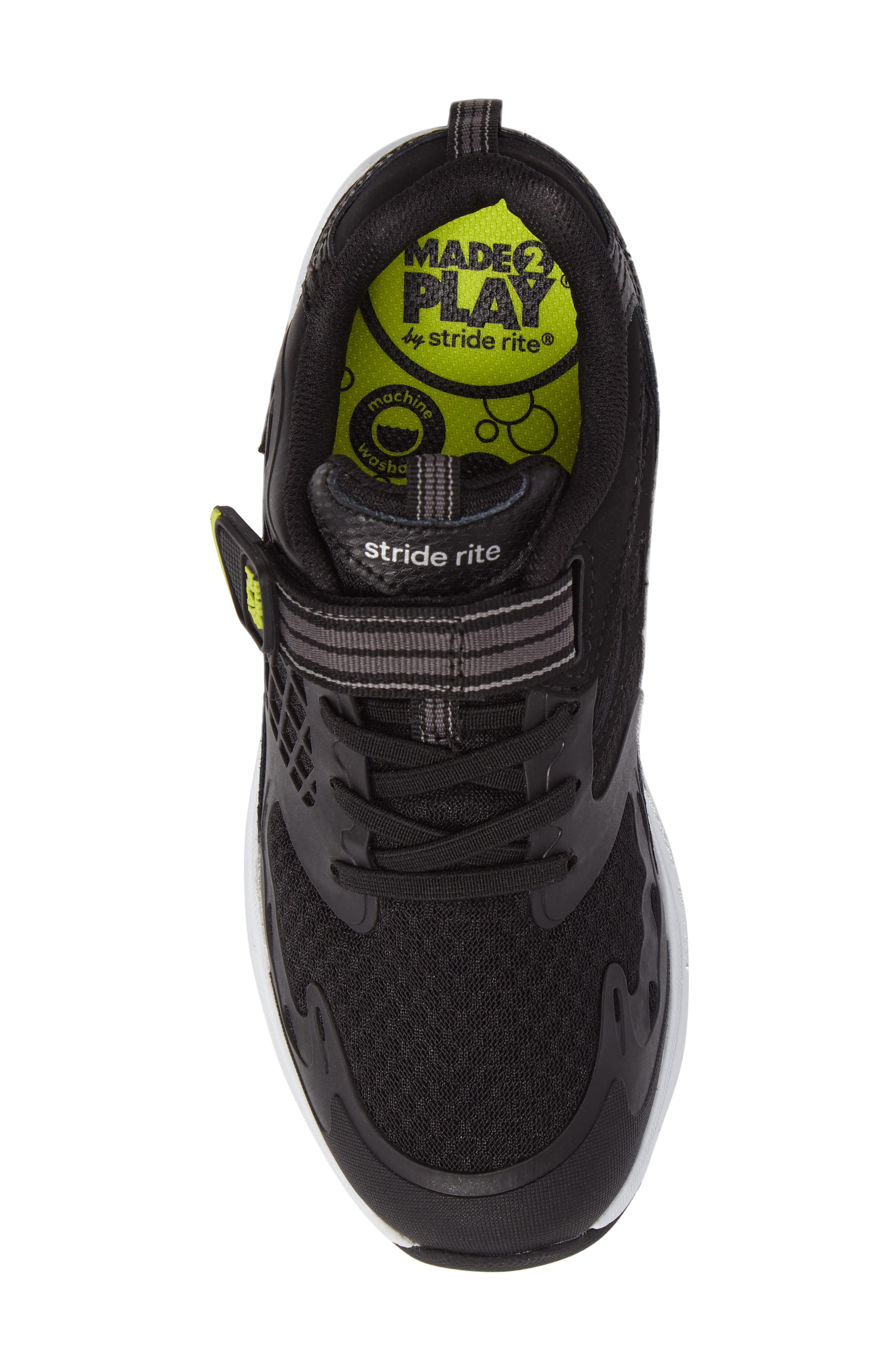 Made 2 Play Breccen Sneaker,                             Alternate thumbnail 5, color,                             Black