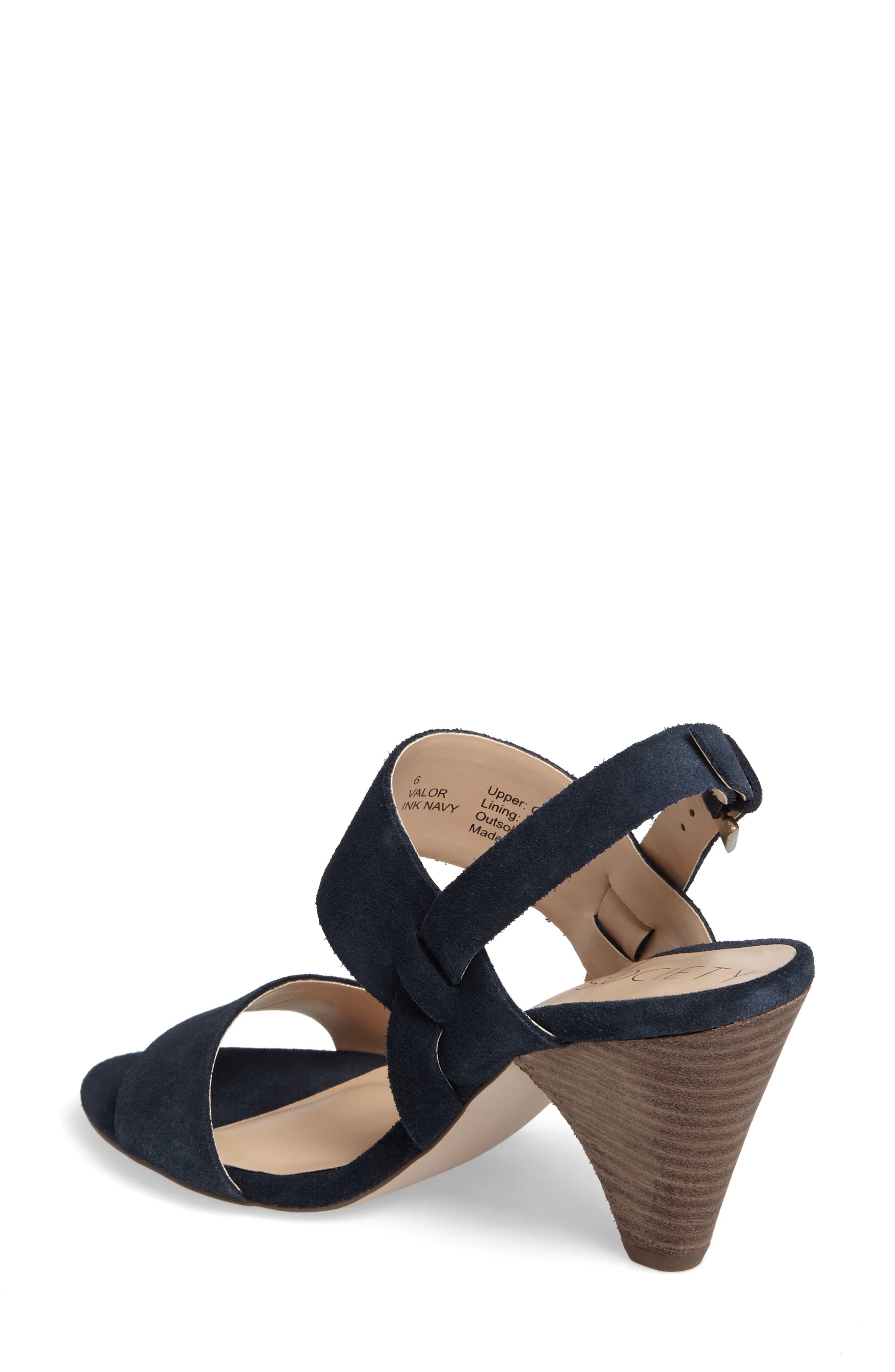 Alternate Image 2  - Sole Society Valor Cone Heel Sandal (Women)
