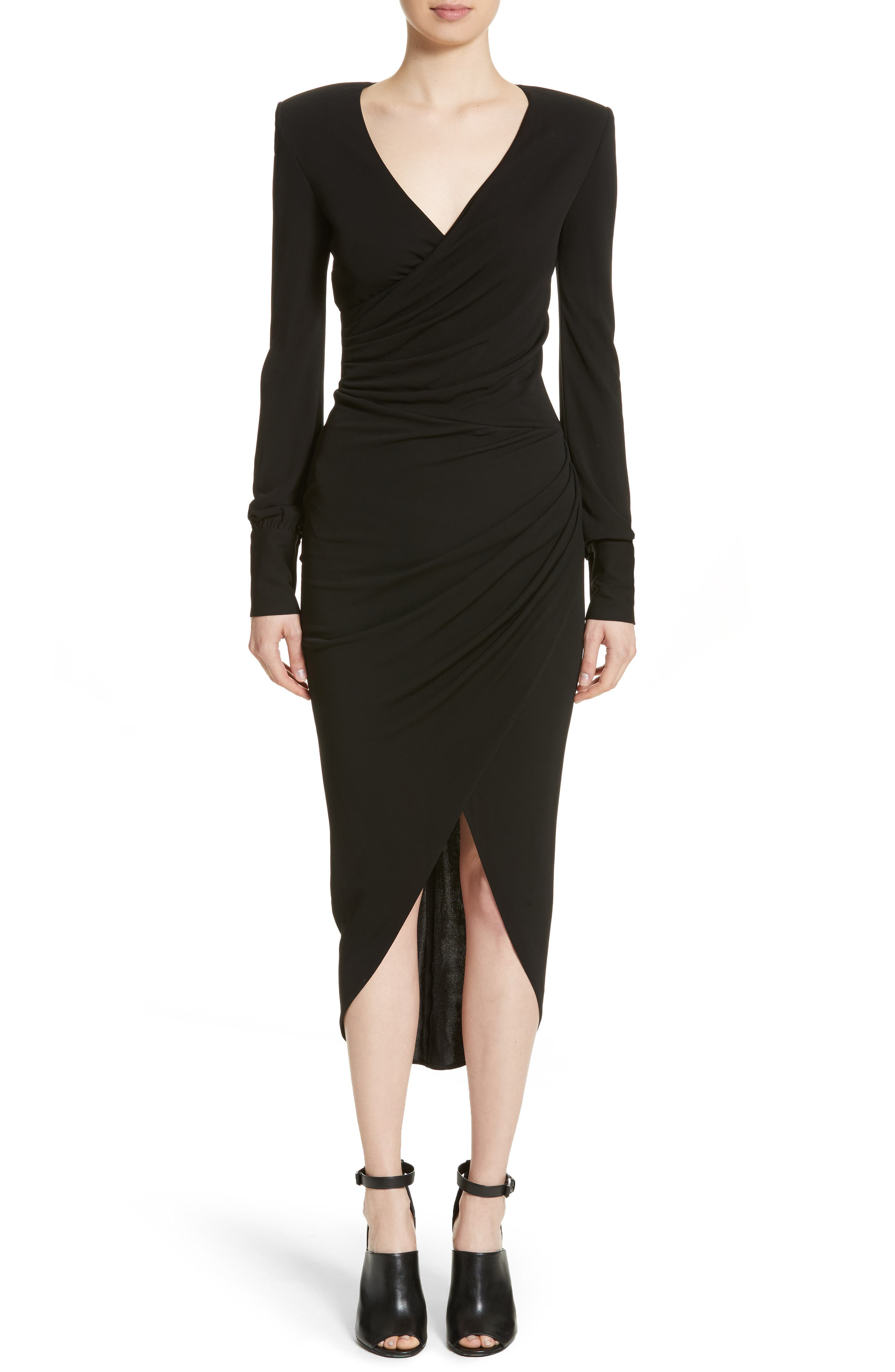 Main Image - Michael Kors Stretch Jersey Wrap Dress