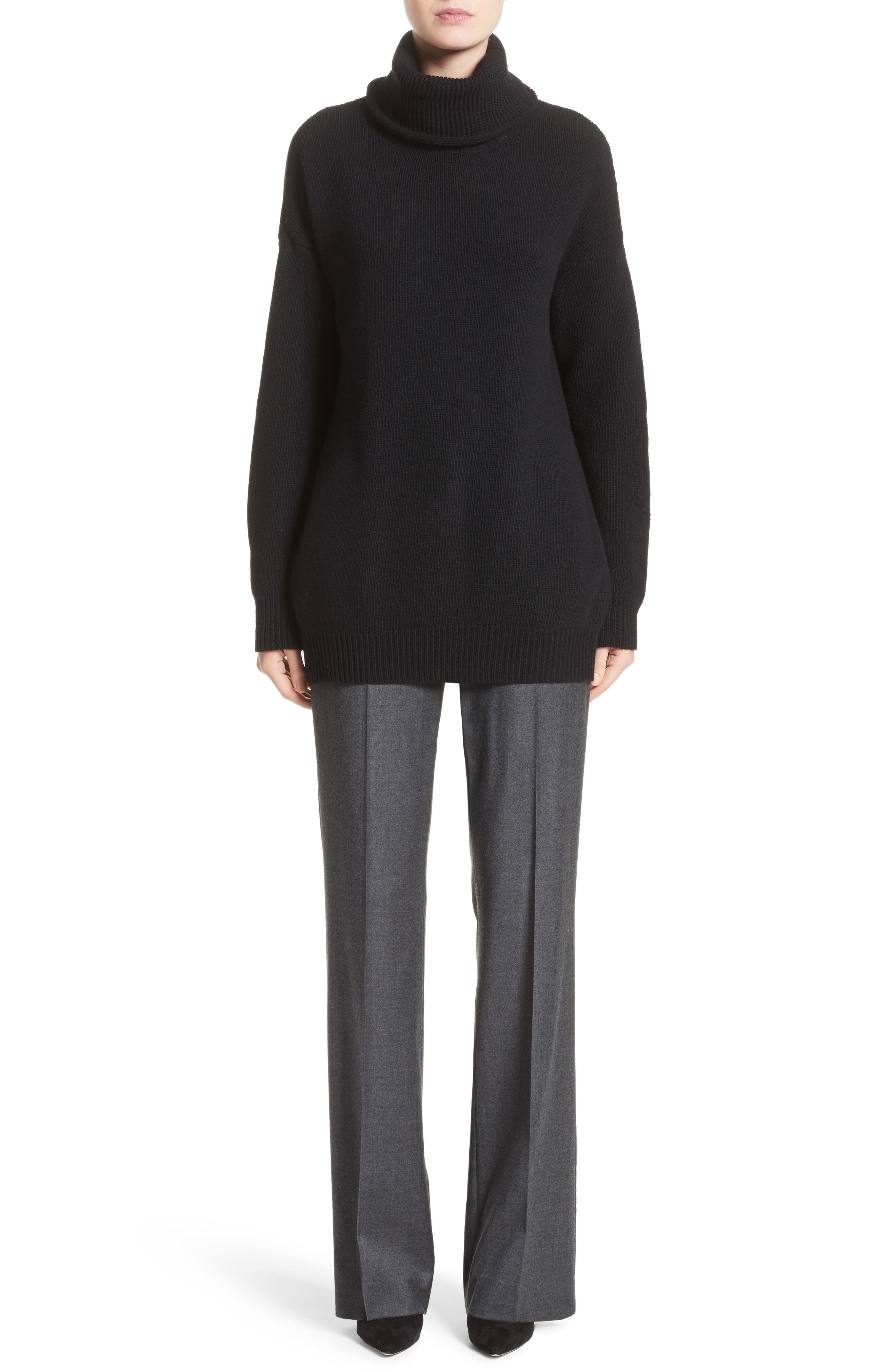 Pedone Wool Pants,                             Alternate thumbnail 10, color,                             Dark Grey