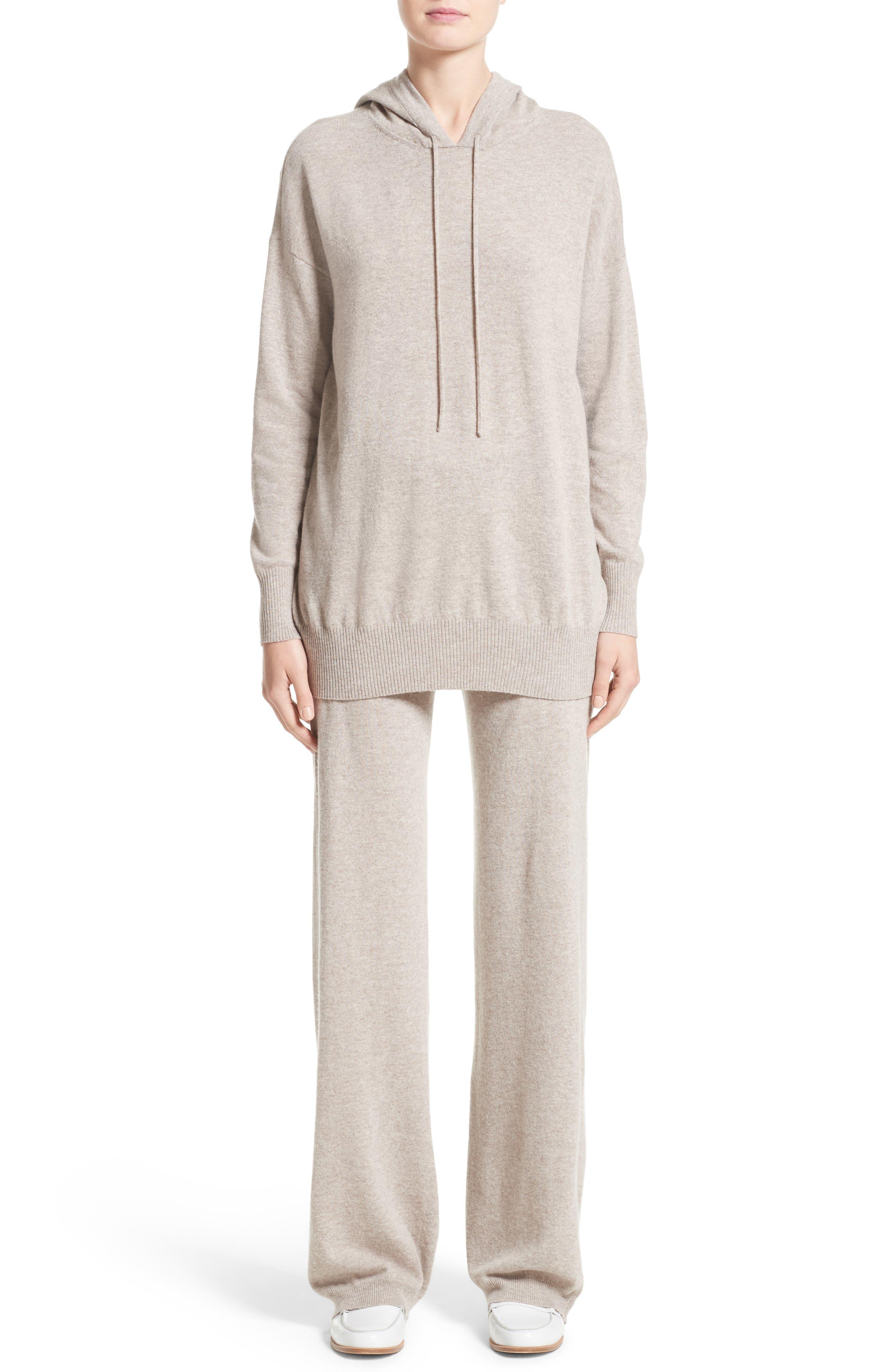 Alternate Image 7  - Max Mara Nitra Wool & Cashmere Hooded Sweater