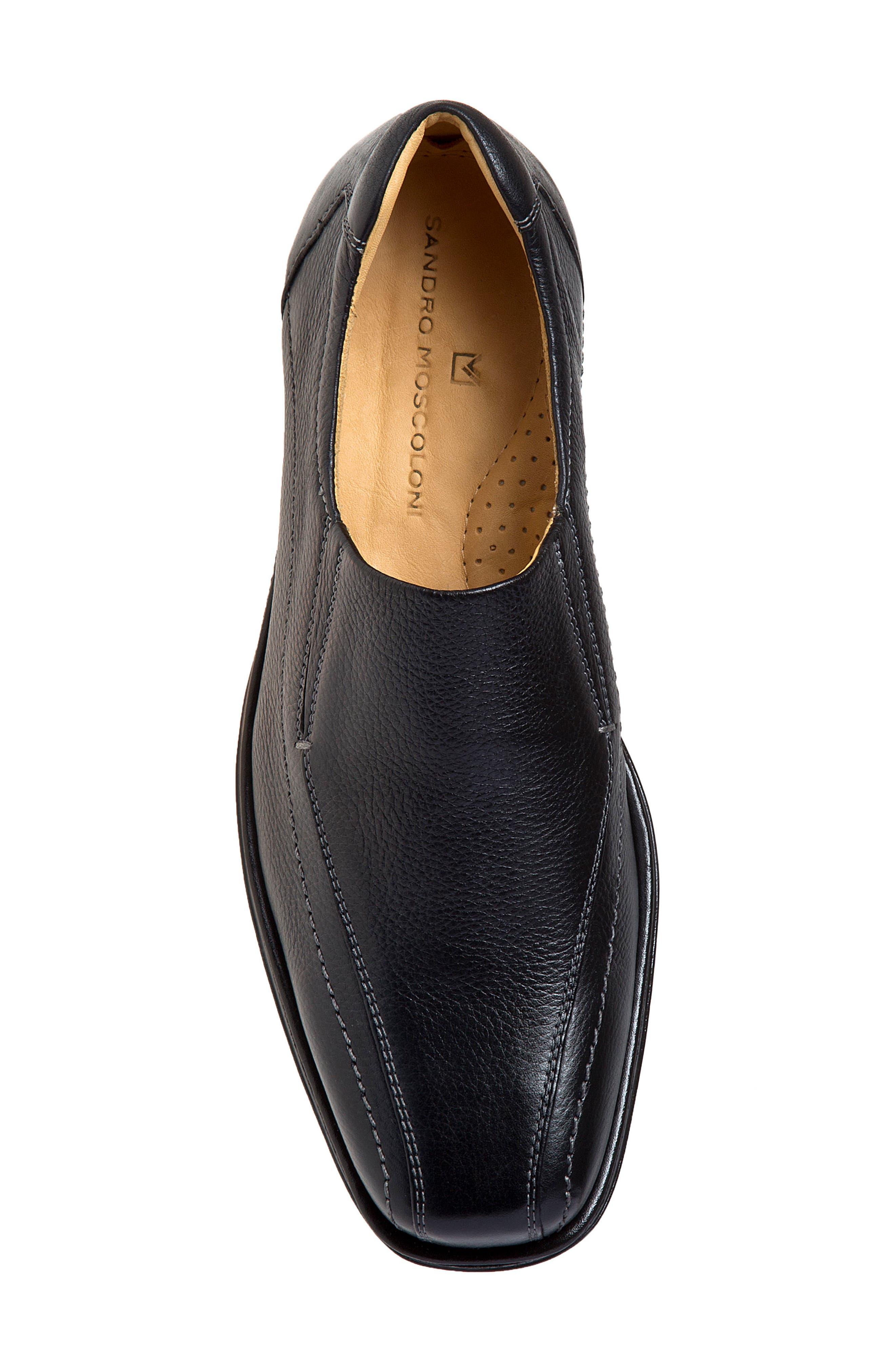 Elgin Venetian Loafer,                             Alternate thumbnail 4, color,                             Black