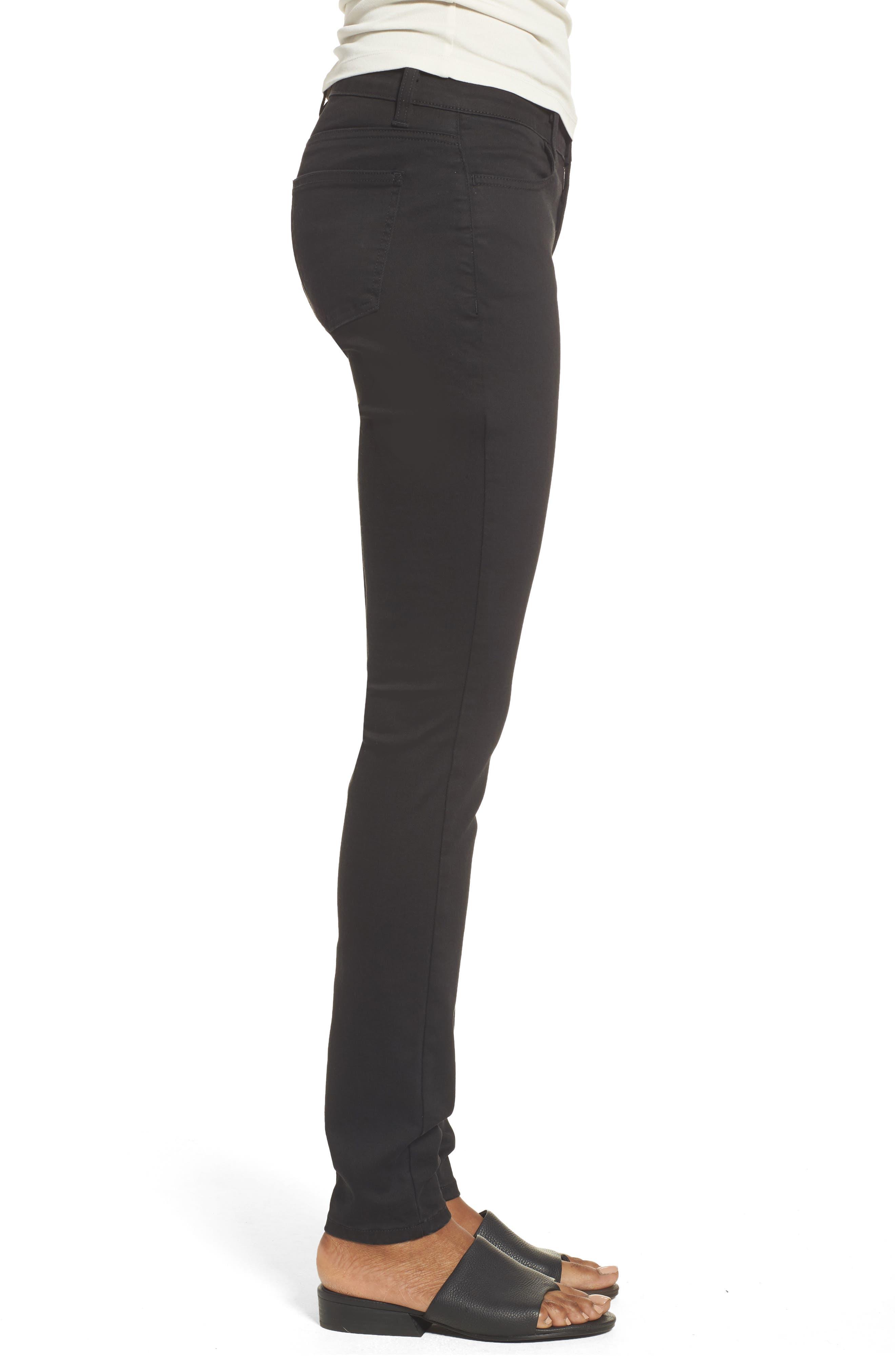 Alternate Image 3  - Eileen Fisher Stretch Skinny Jeans