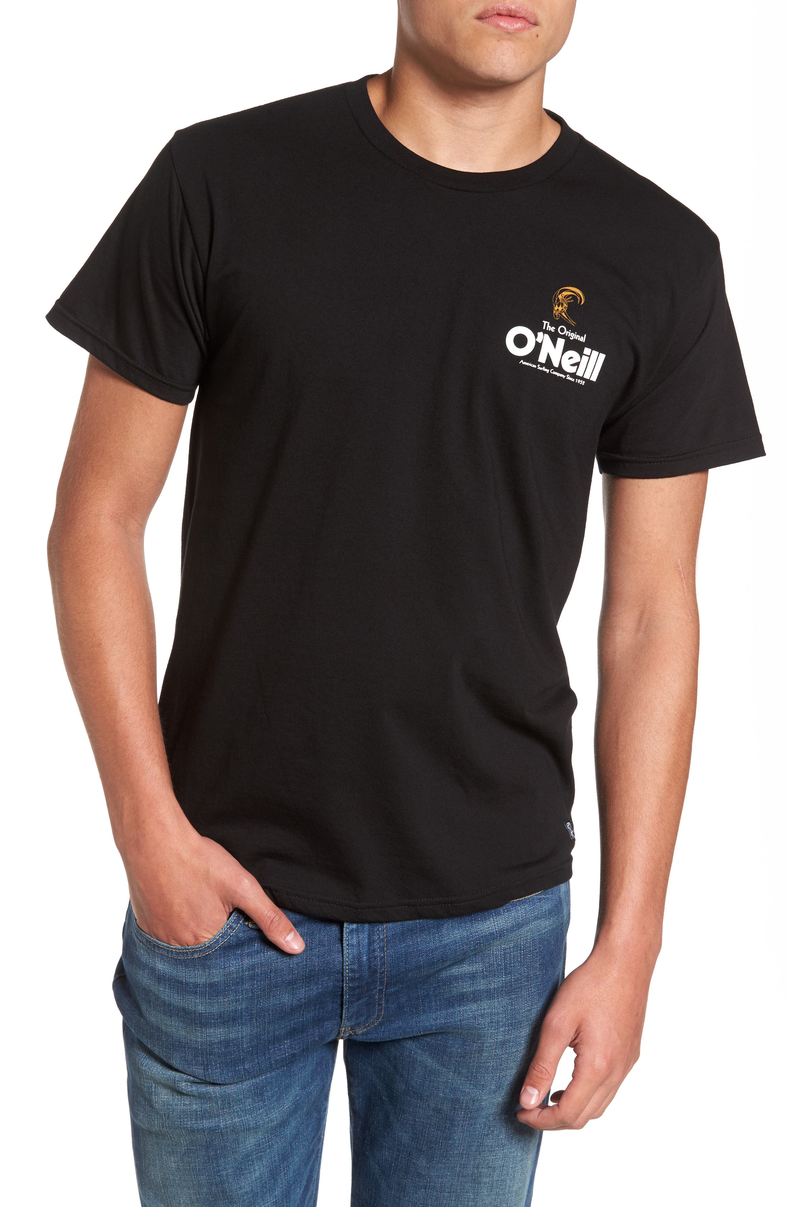 Alternate Image 1 Selected - O'Neill Stickup Graphic T-Shirt