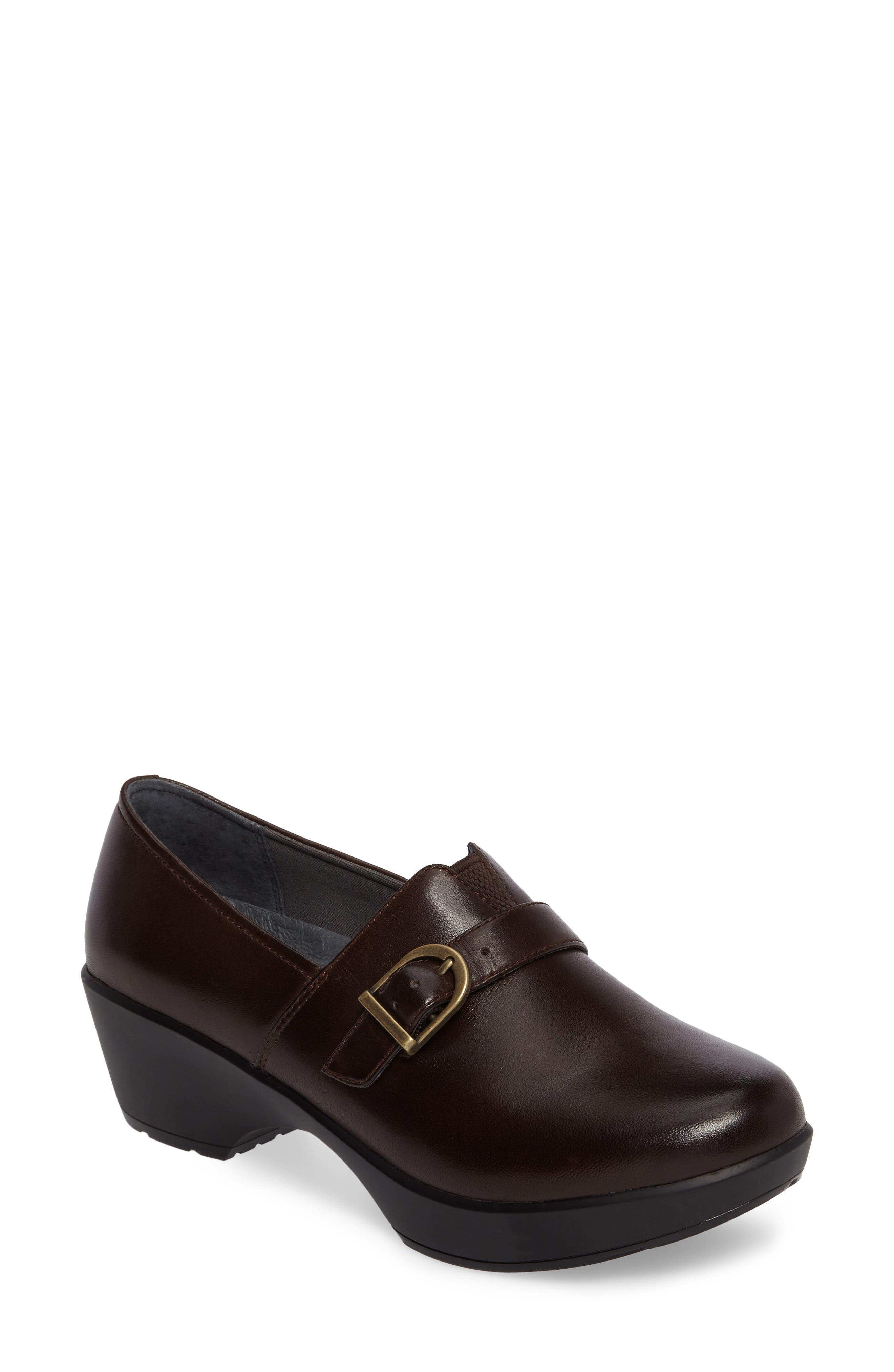 2c037821a9e2 Dansko Jane Platform Loafer In Chocolate Burnished Leather ...