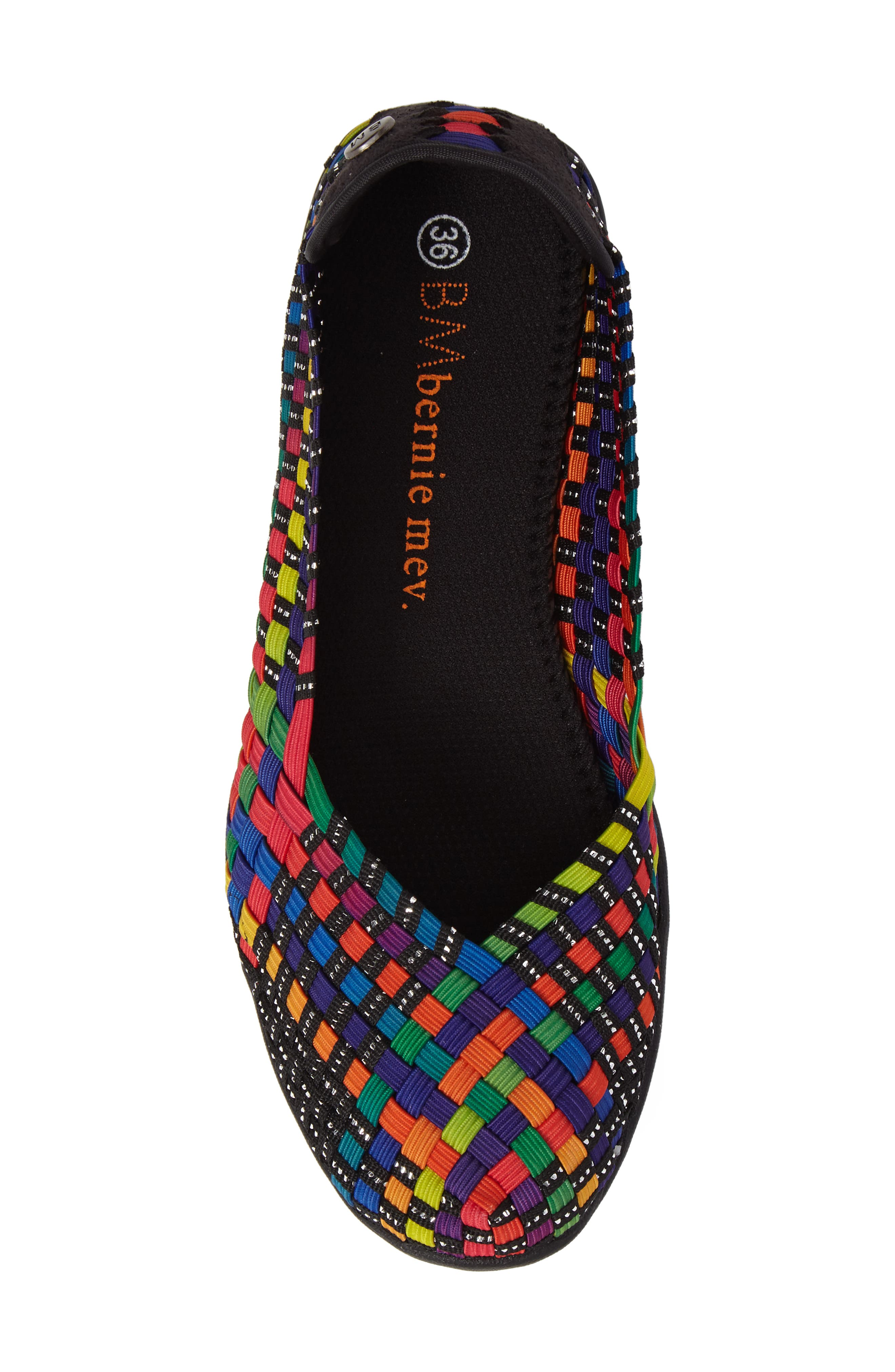 Catwalk Sneaker,                             Alternate thumbnail 5, color,                             Black Multi