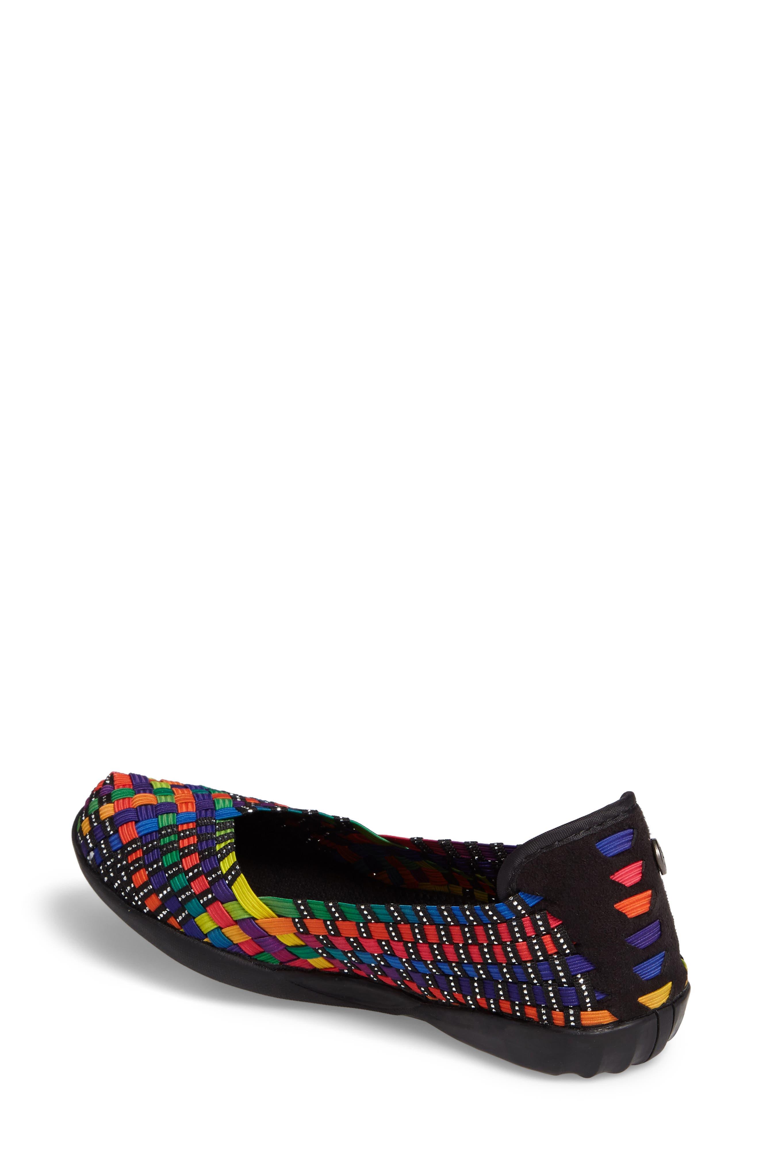 Catwalk Sneaker,                             Alternate thumbnail 2, color,                             Black Multi