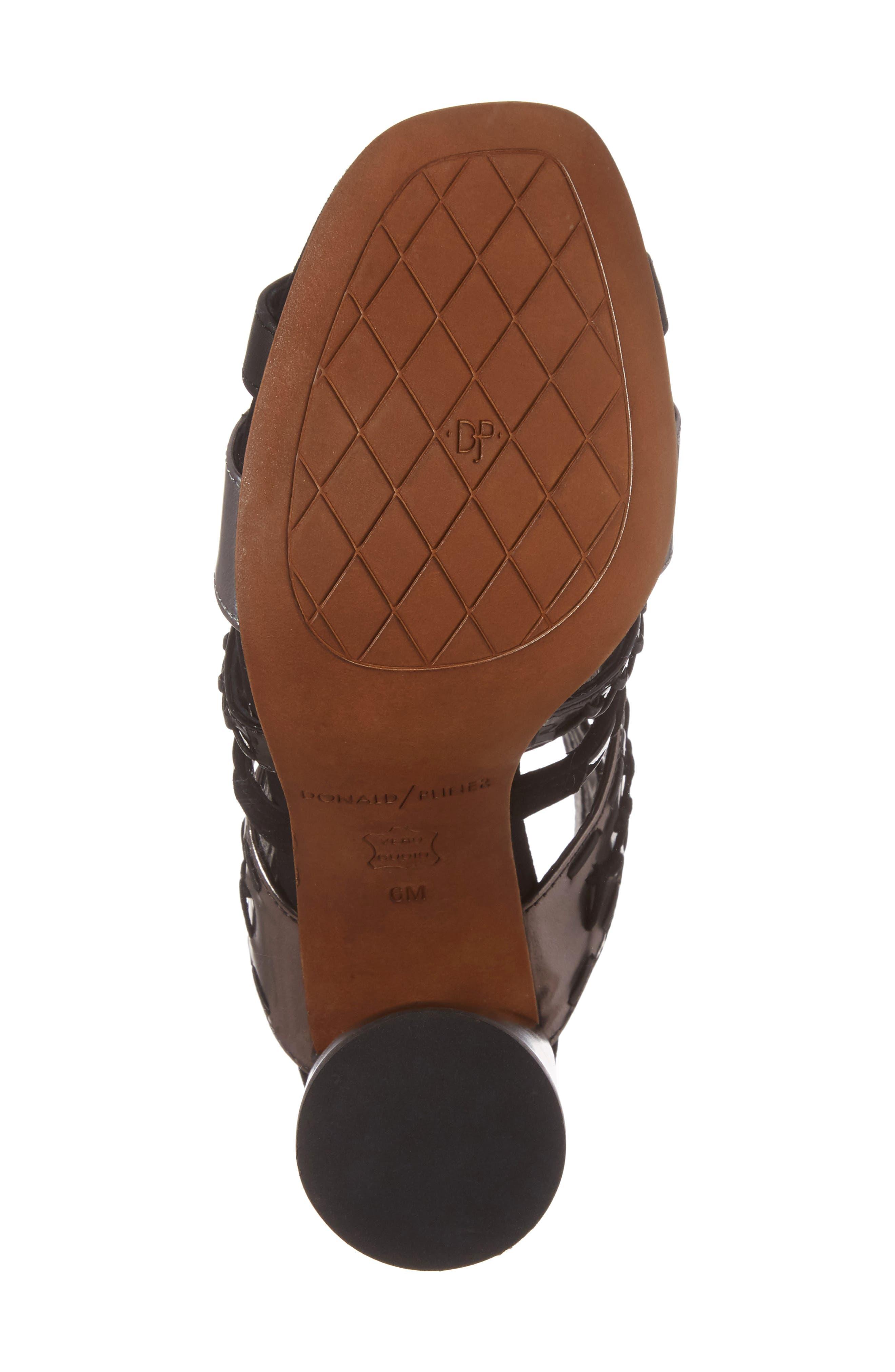 Alternate Image 6  - Donald J Pliner Bindy Column Heel Cage Sandal (Women)