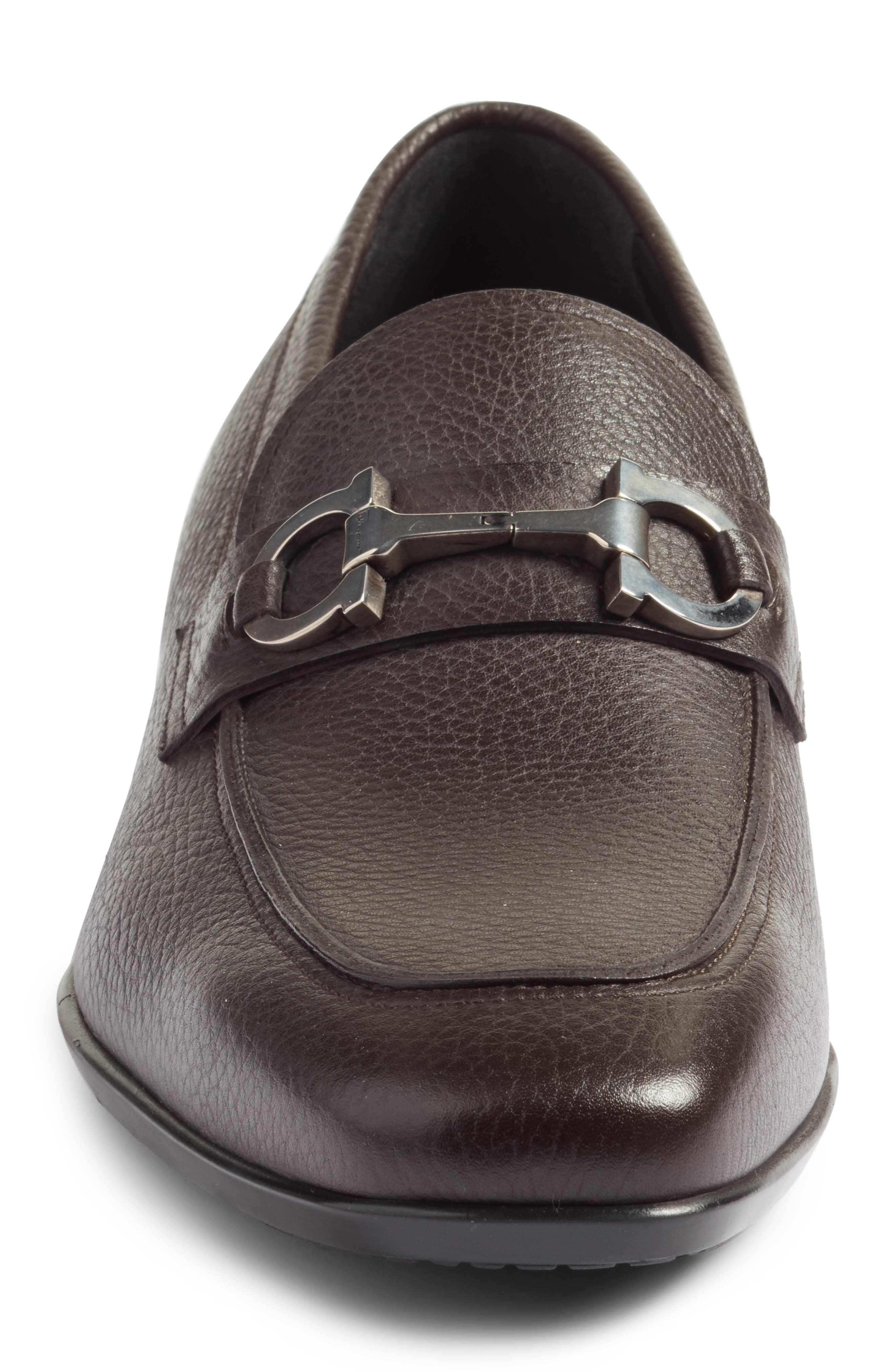 Bit Loafer,                             Alternate thumbnail 4, color,                             Hickory Leather