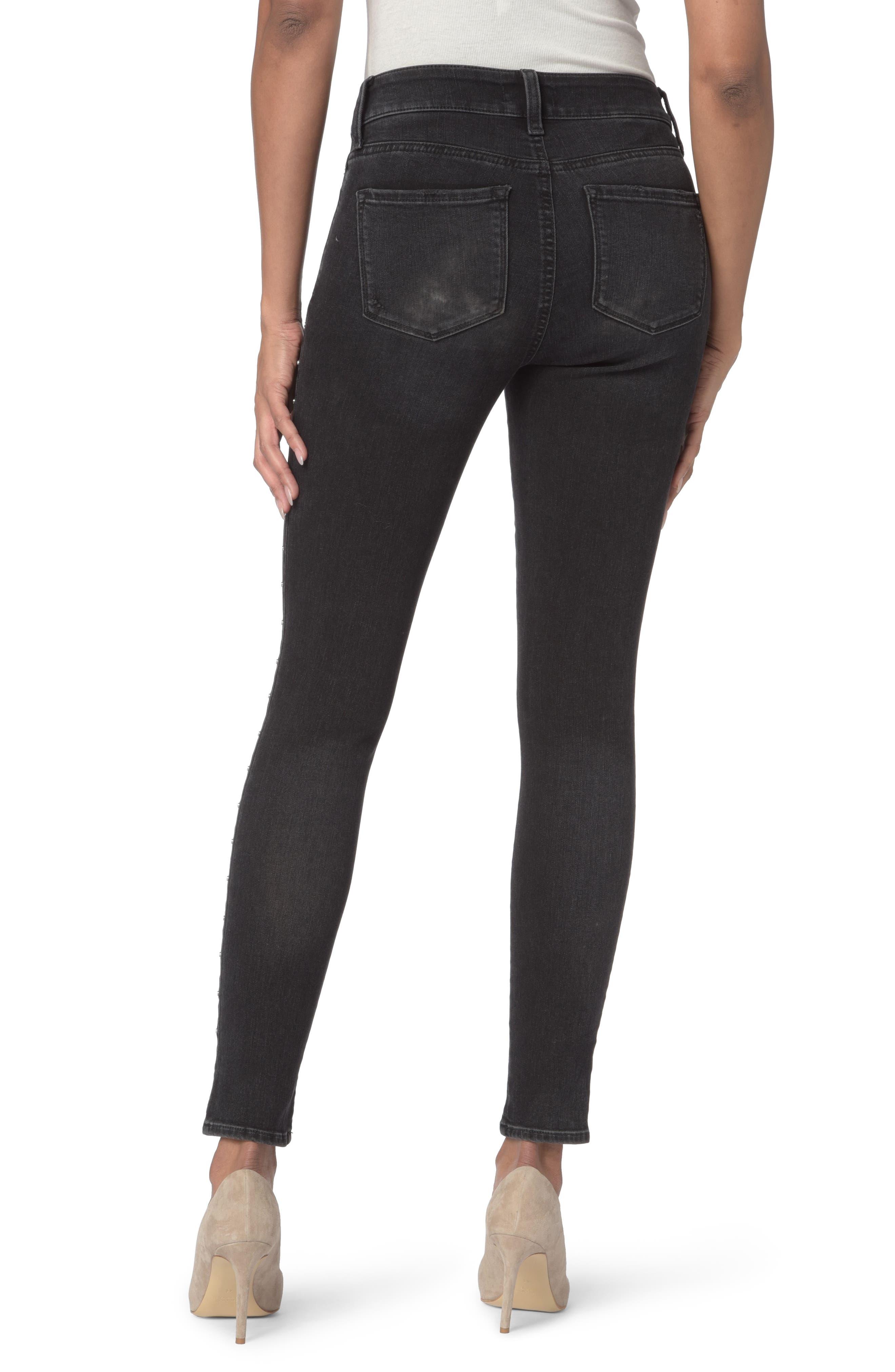 Alternate Image 2  - NYDJ Ami Embellished Stretch Skinny Jeans (Campaign) (Regular & Petite)