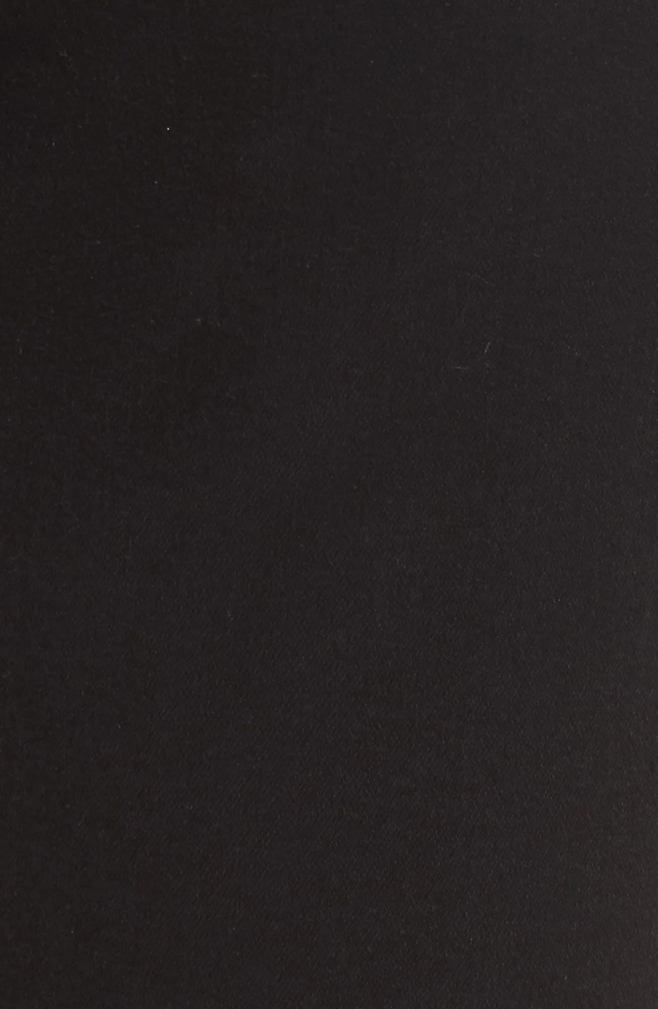 Alternate Image 5  - 7 For All Mankind® b(air) High Waist Skinny Jeans (Bair Black)