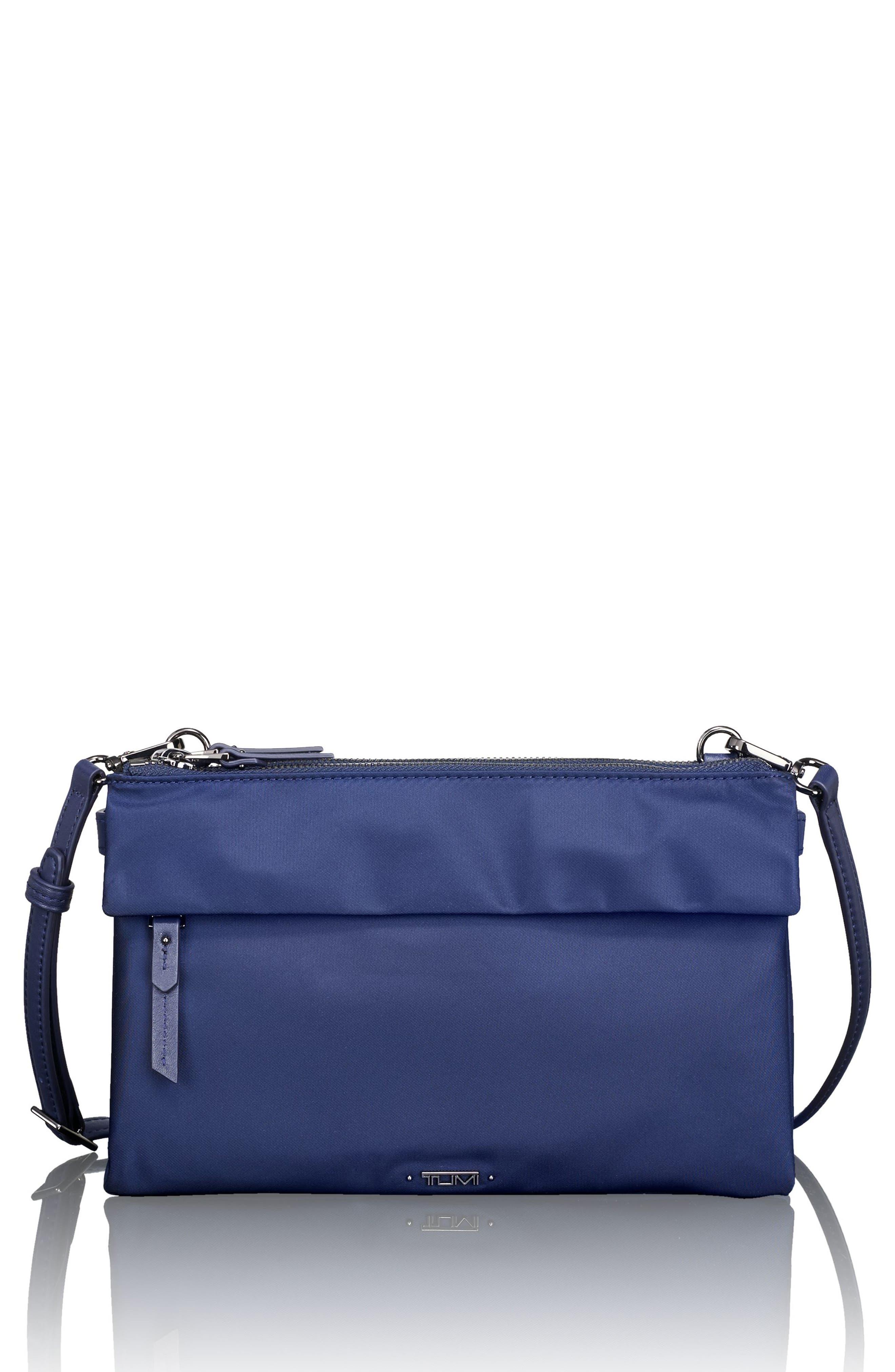 Voyageur - Tristen Nylon Crossbody Bag,                         Main,                         color, Marine