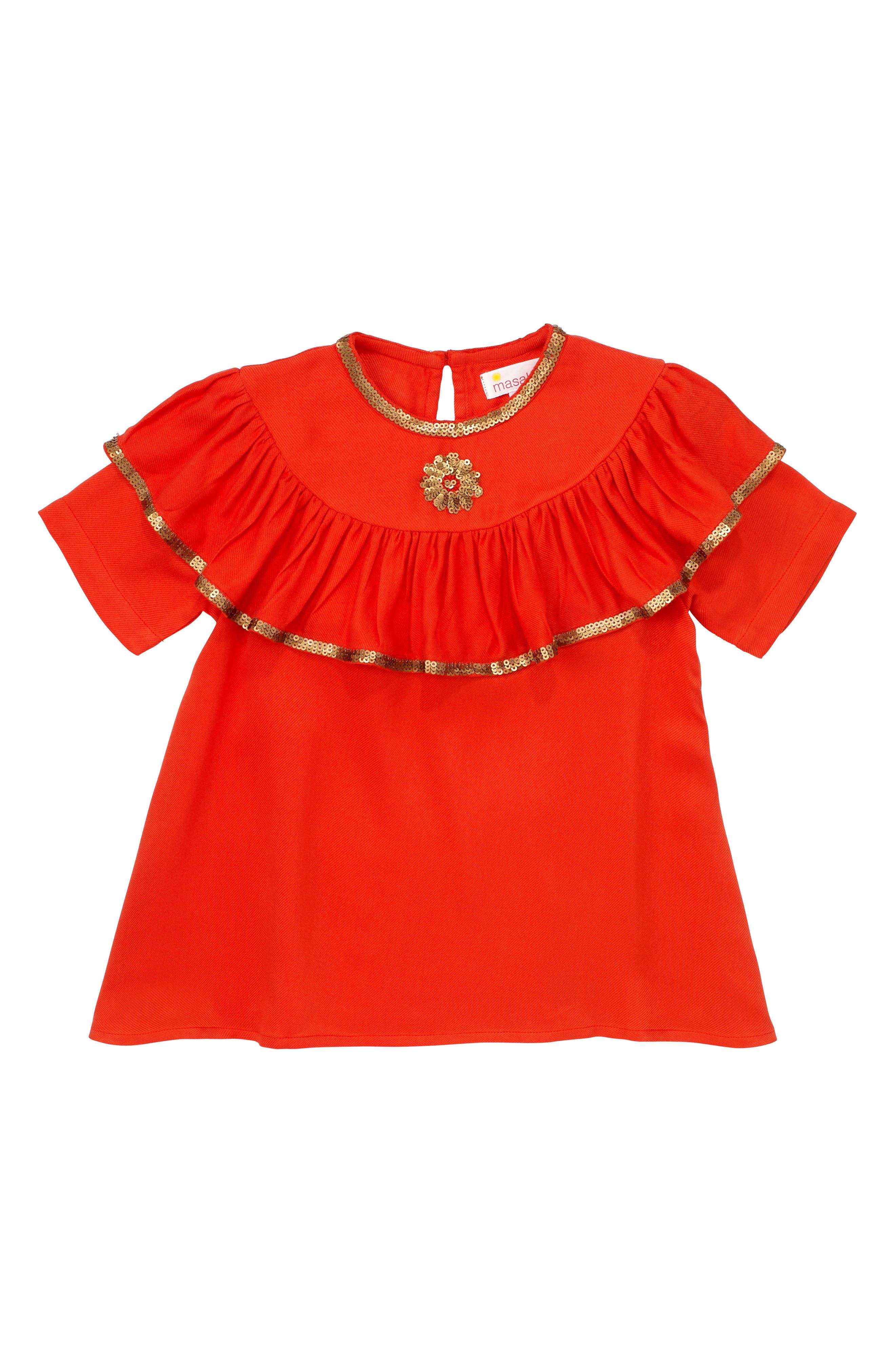 Masalababy Enchanted Ruffle Top (Toddler Girls, Little Girls & Big Girls)