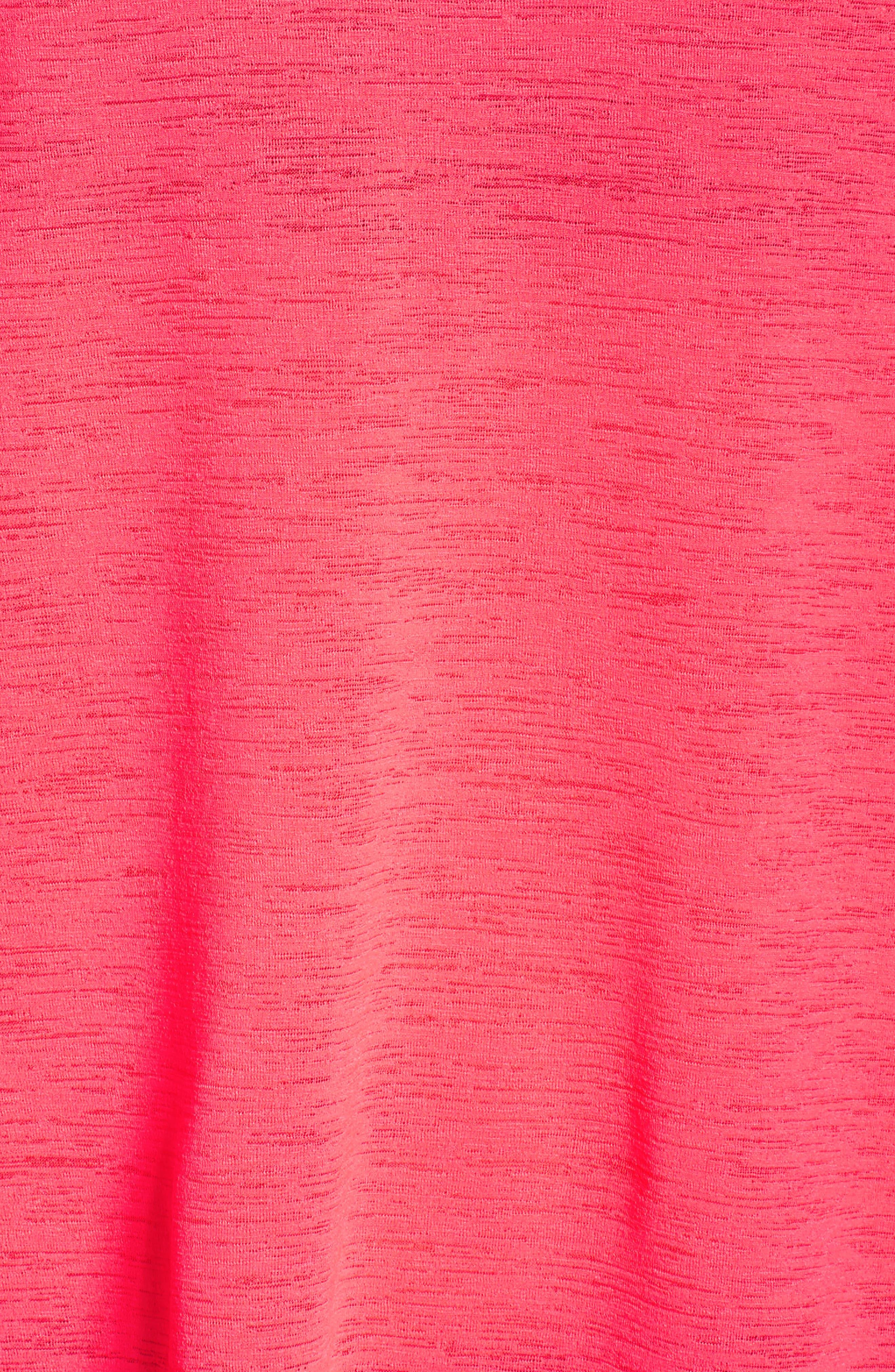 Breathe Running Tee,                             Alternate thumbnail 6, color,                             Racer Pink