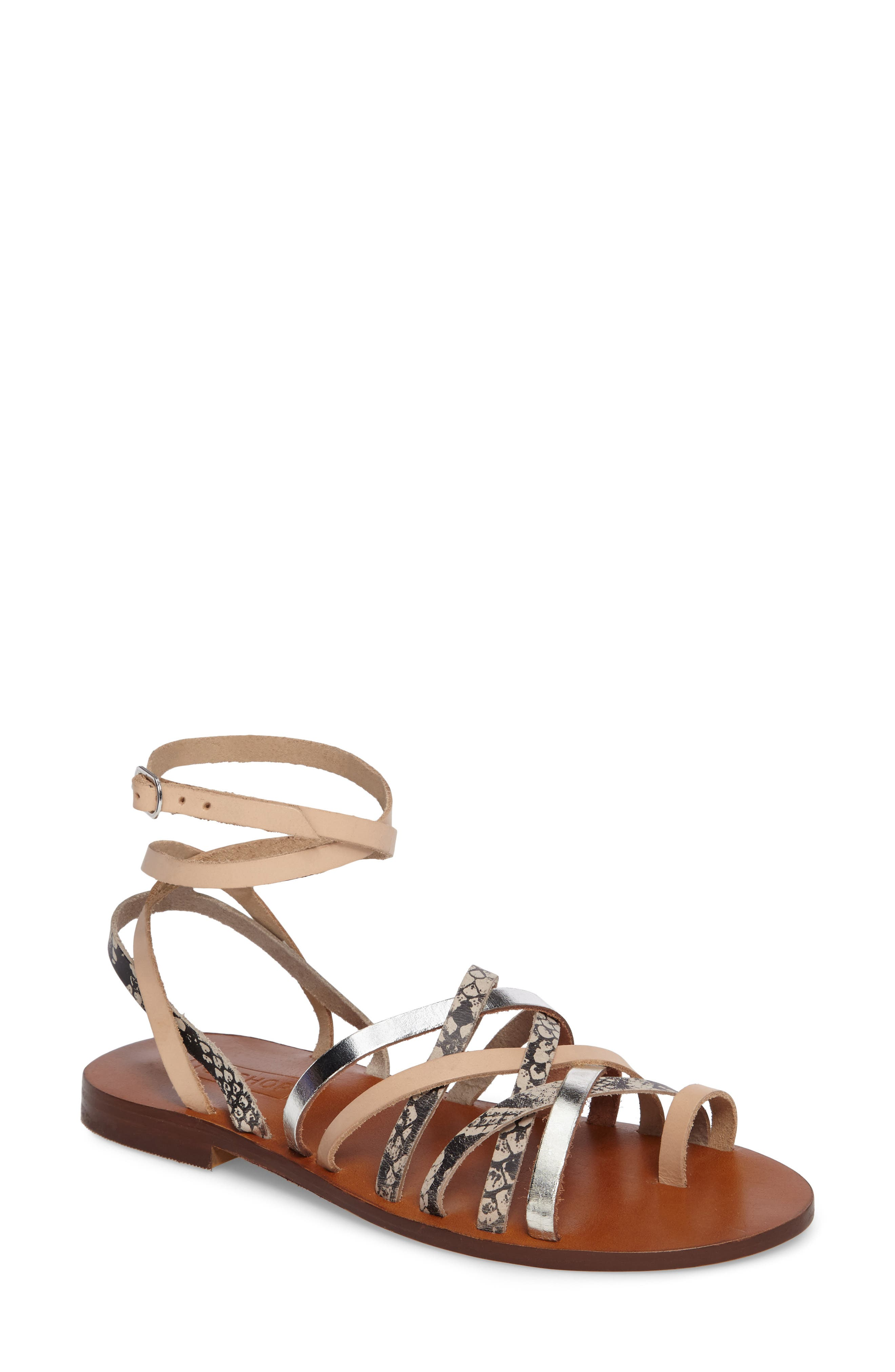 Main Image - Topshop Fizzy Strappy Sandal (Women)