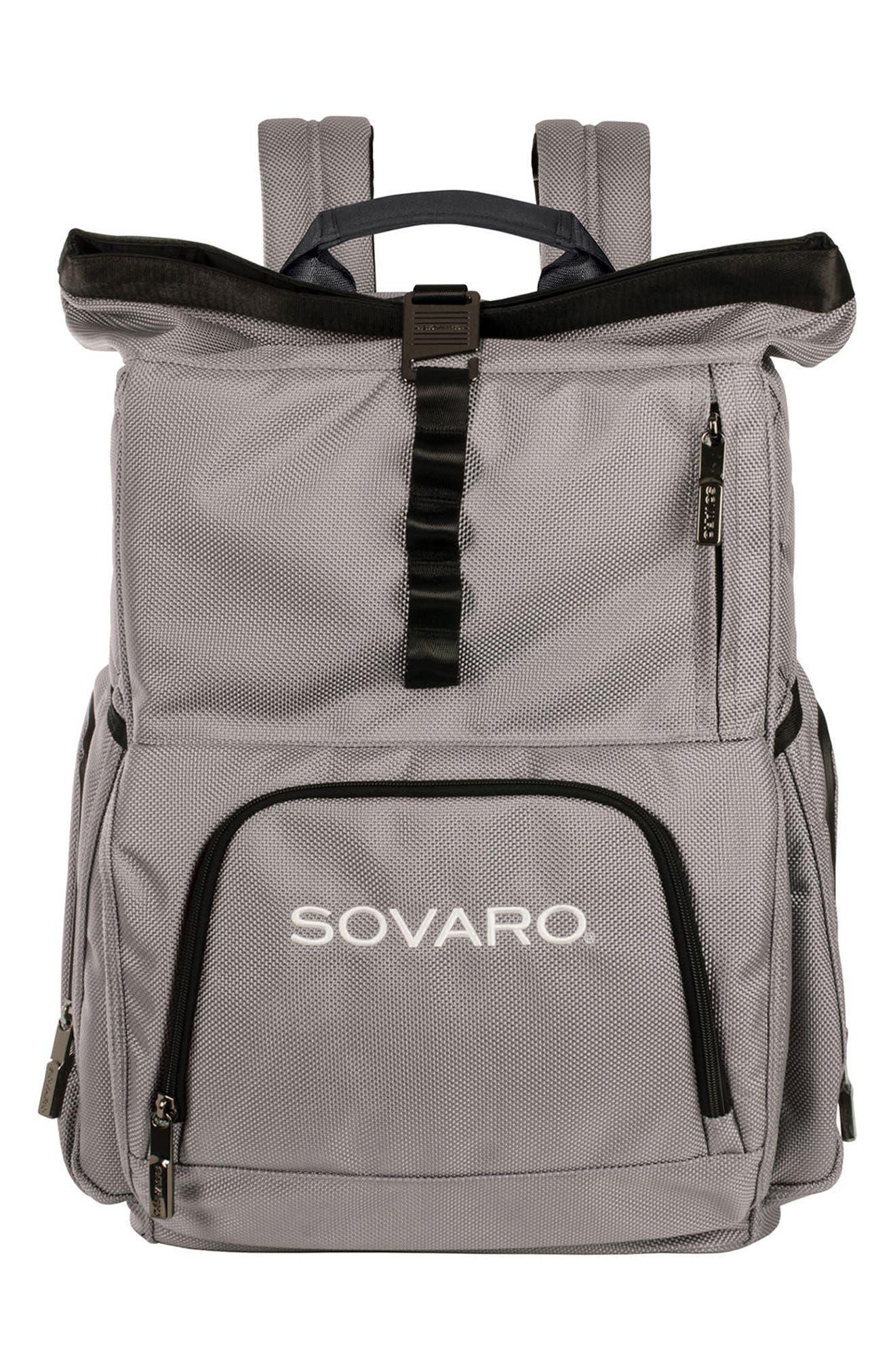 Backpack Cooler,                             Main thumbnail 1, color,                             Gray