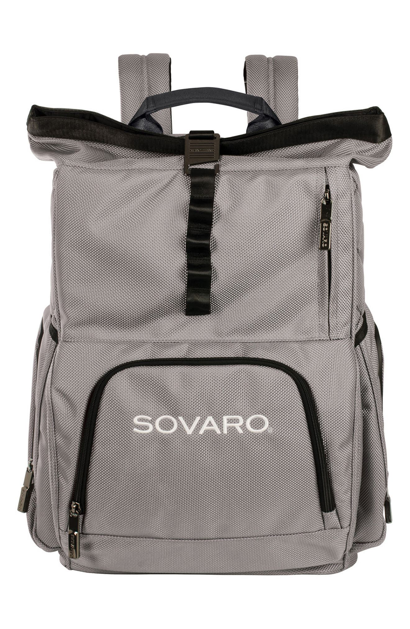 Backpack Cooler,                         Main,                         color, Gray